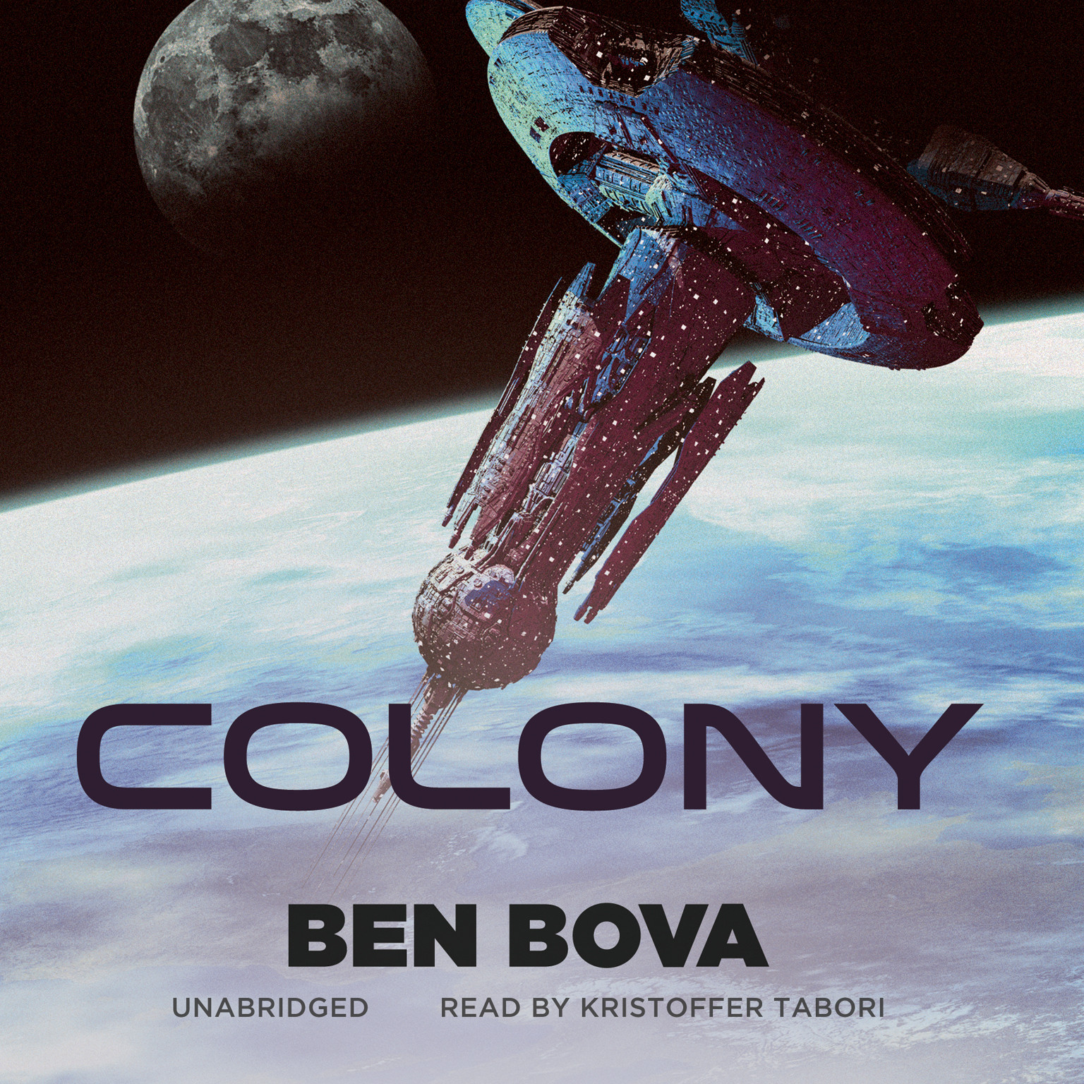Printable Colony Audiobook Cover Art