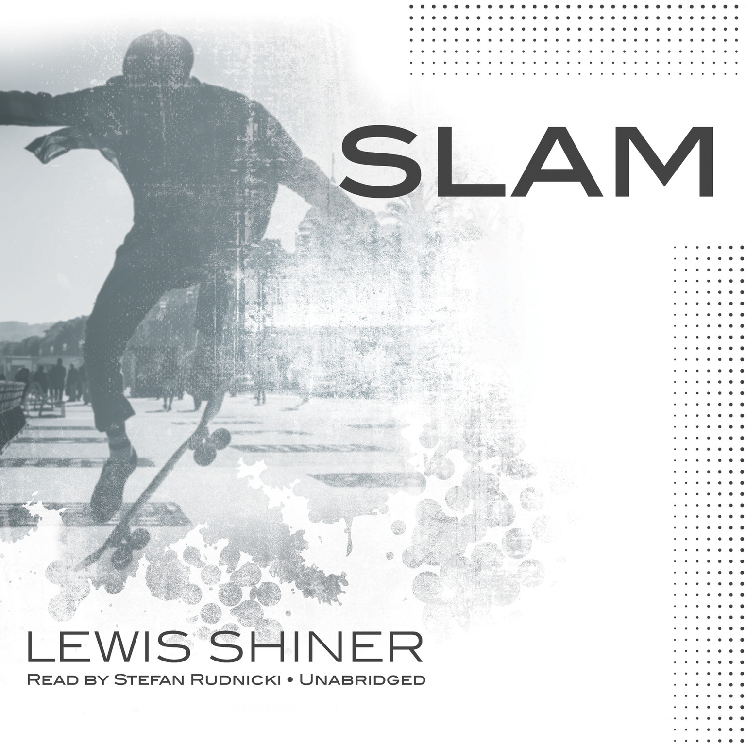 Printable Slam Audiobook Cover Art