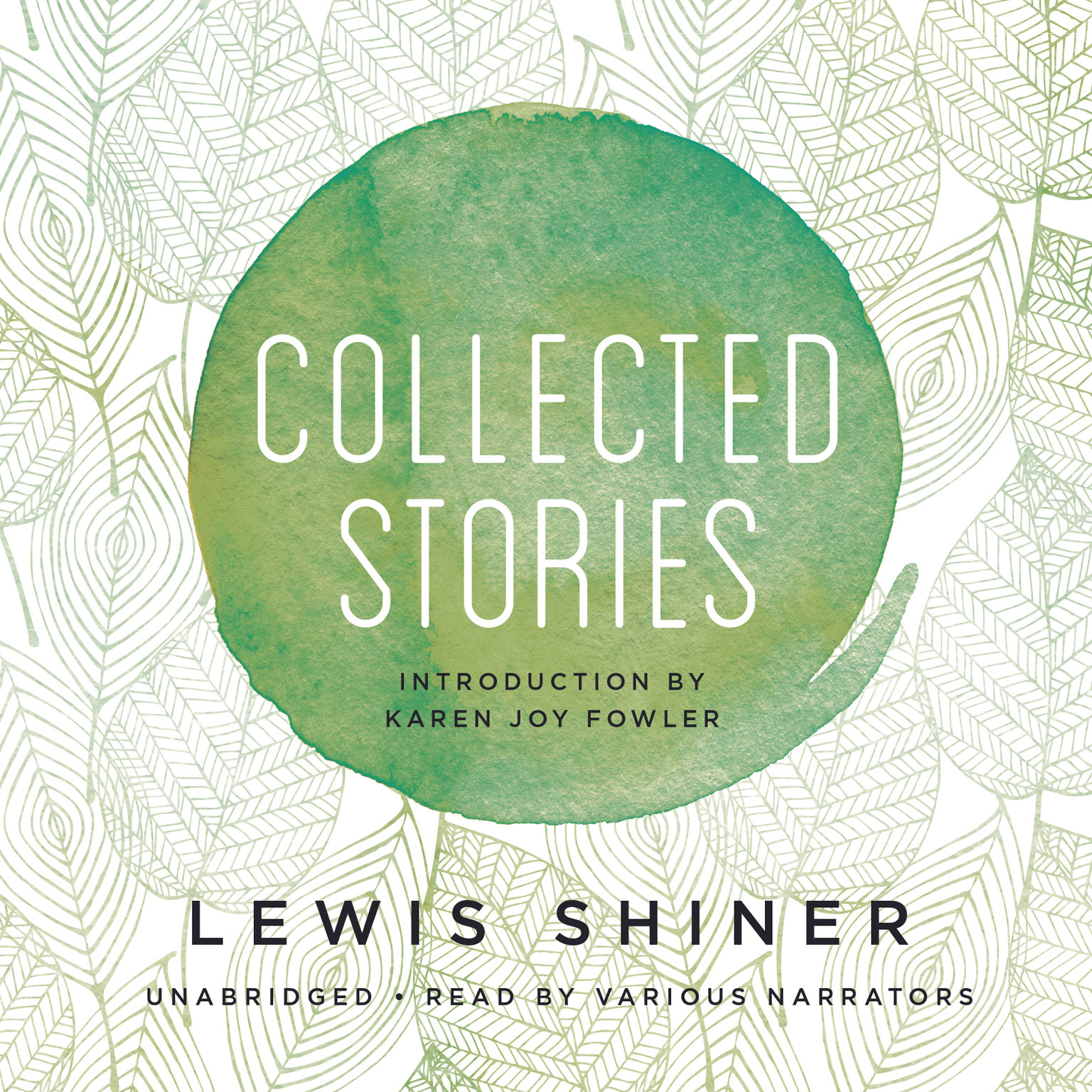 Printable Collected Stories Audiobook Cover Art
