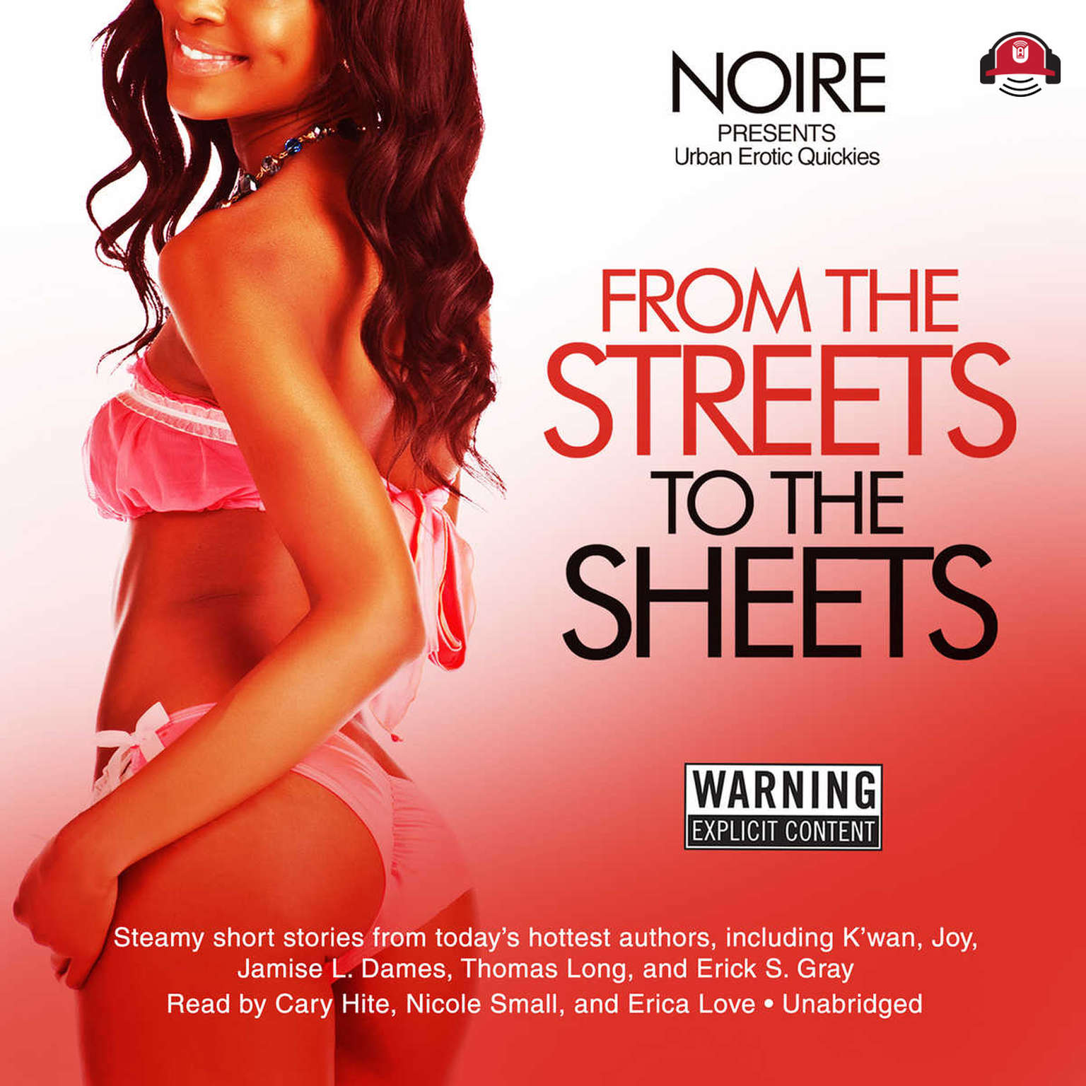Printable From the Streets to the Sheets: Urban Erotic Quickies Audiobook Cover Art