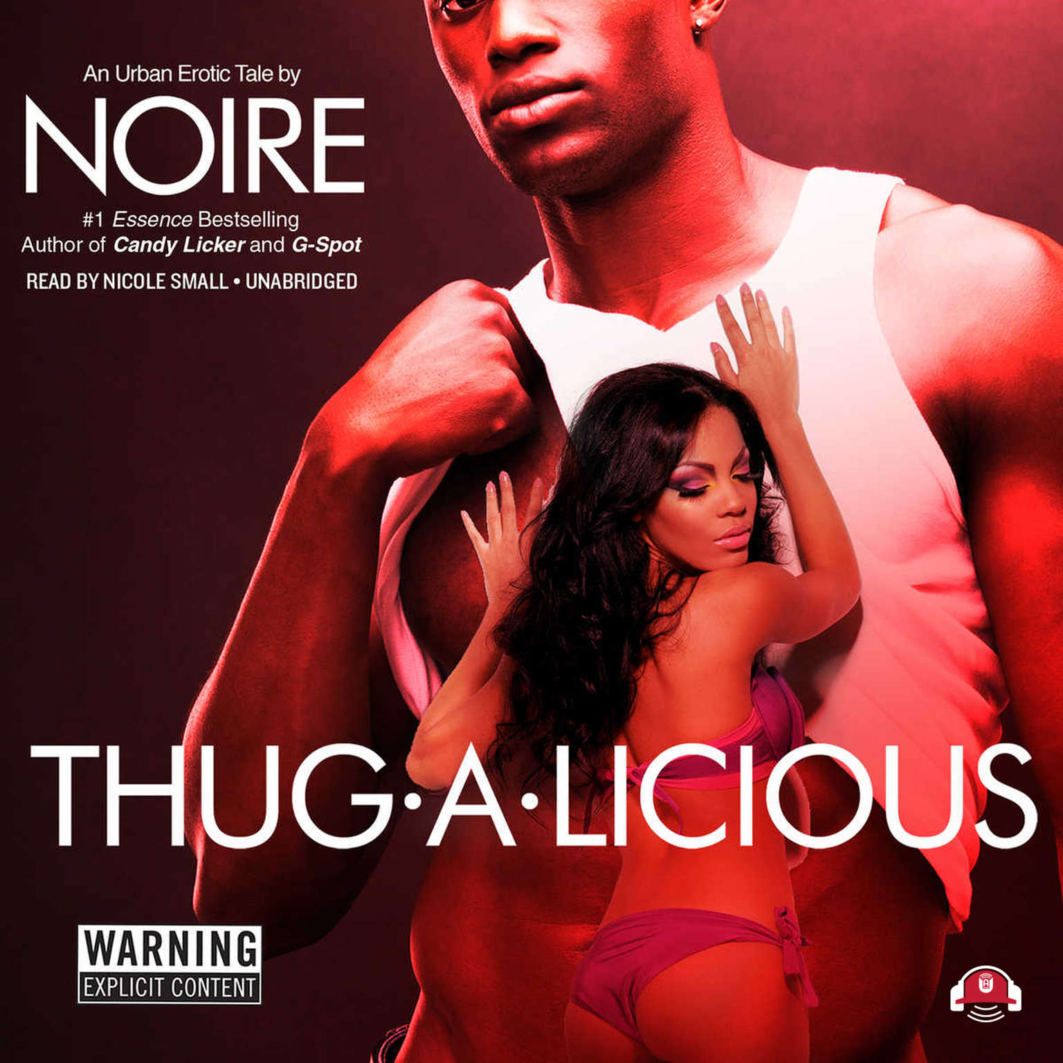 Printable Thug-A-Licious: An Urban Erotic Tale Audiobook Cover Art