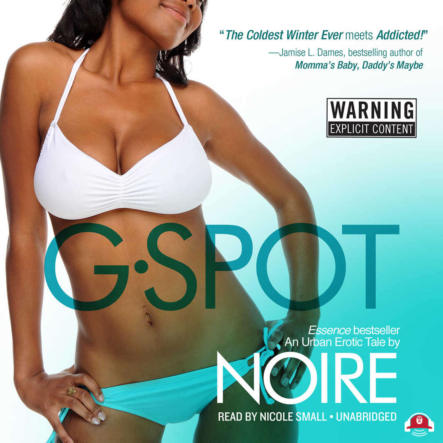 Printable G-Spot: An Urban Erotic Tale Audiobook Cover Art