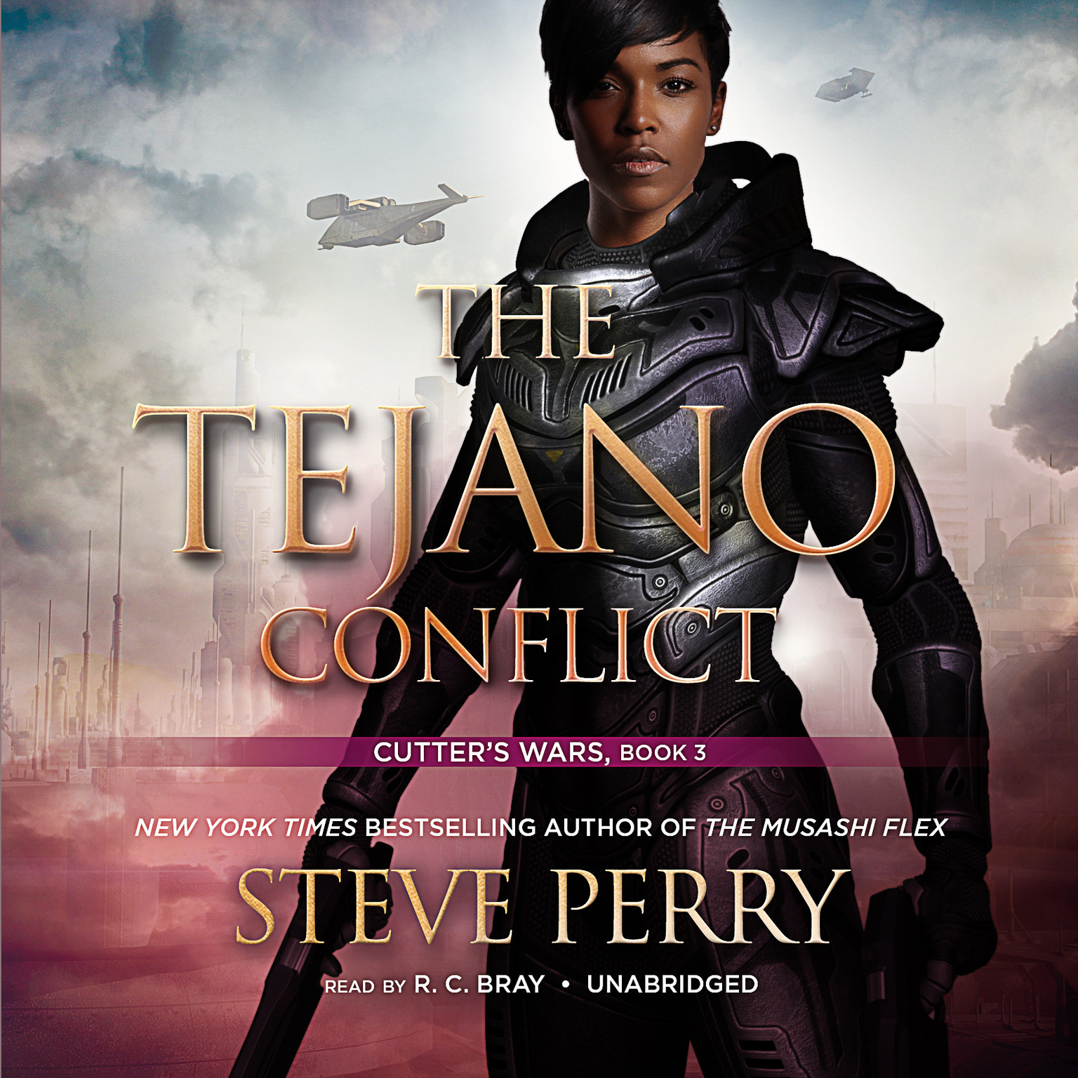 Printable The Tejano Conflict: Cutter's Wars Audiobook Cover Art
