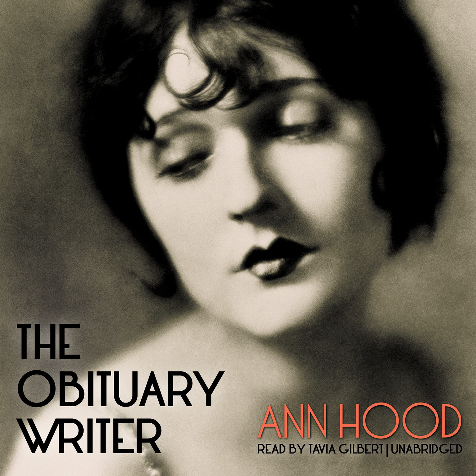 Printable The Obituary Writer Audiobook Cover Art