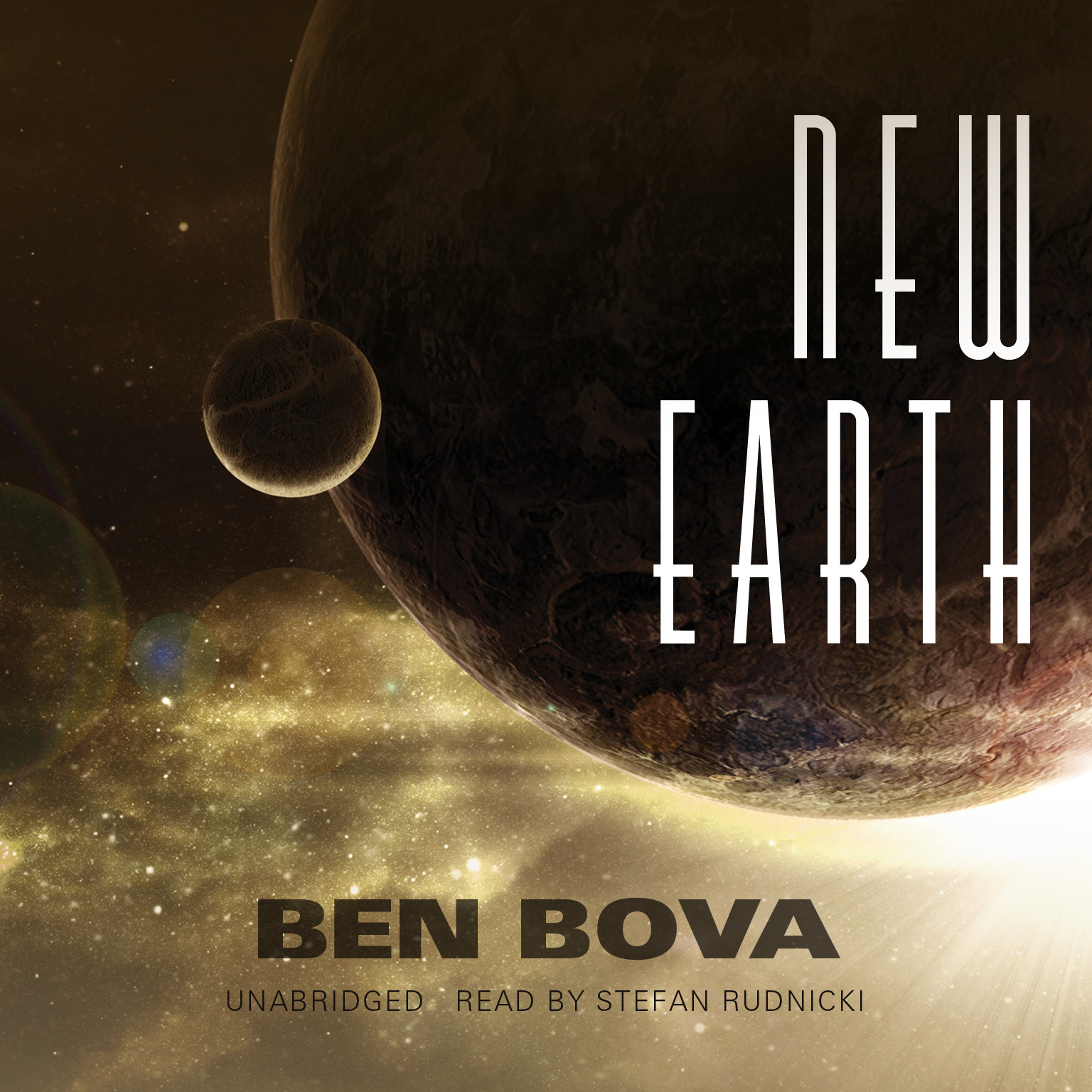Printable New Earth Audiobook Cover Art