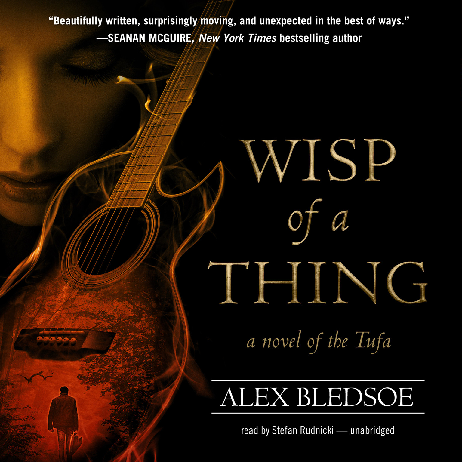 Printable Wisp of a Thing Audiobook Cover Art