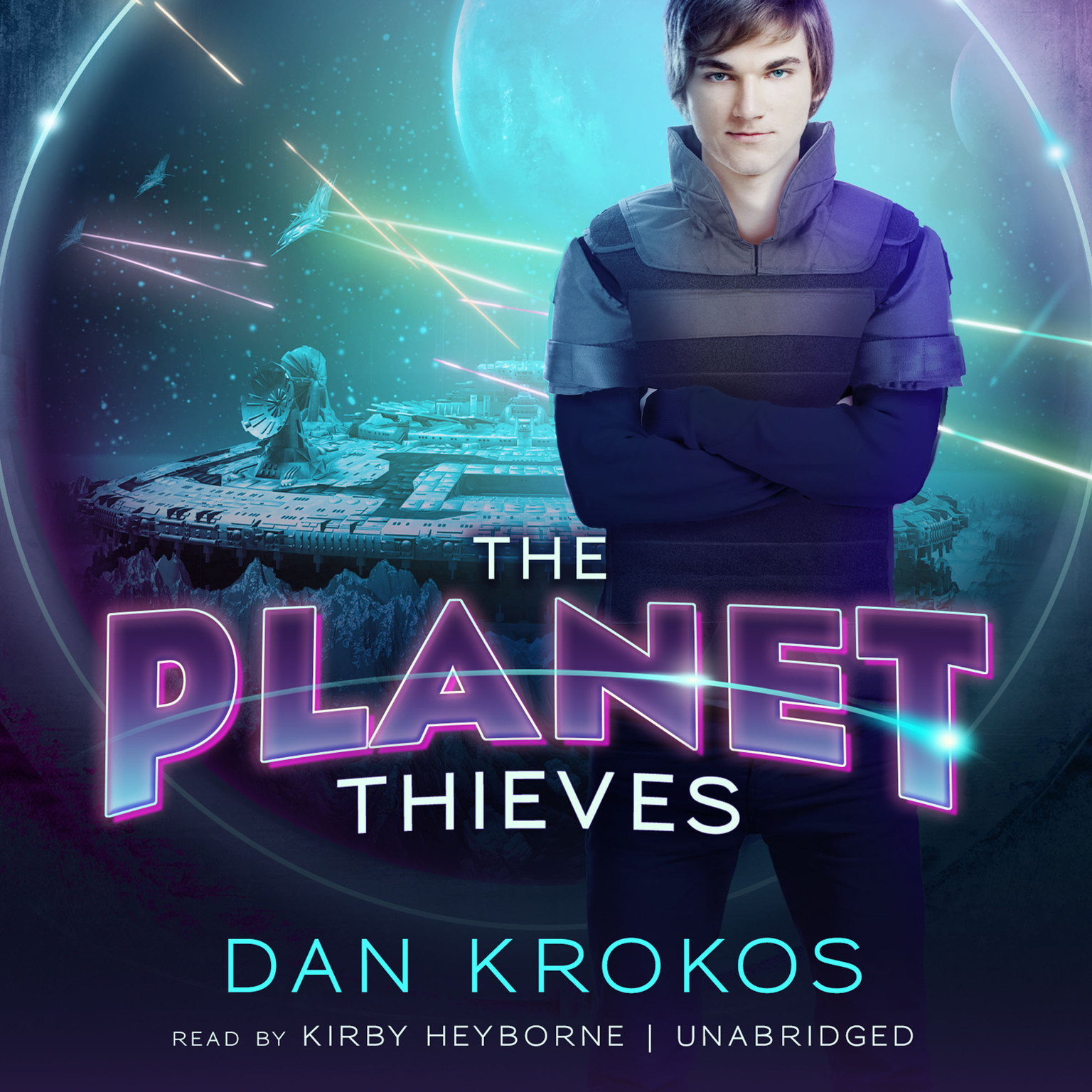 Printable The Planet Thieves Audiobook Cover Art
