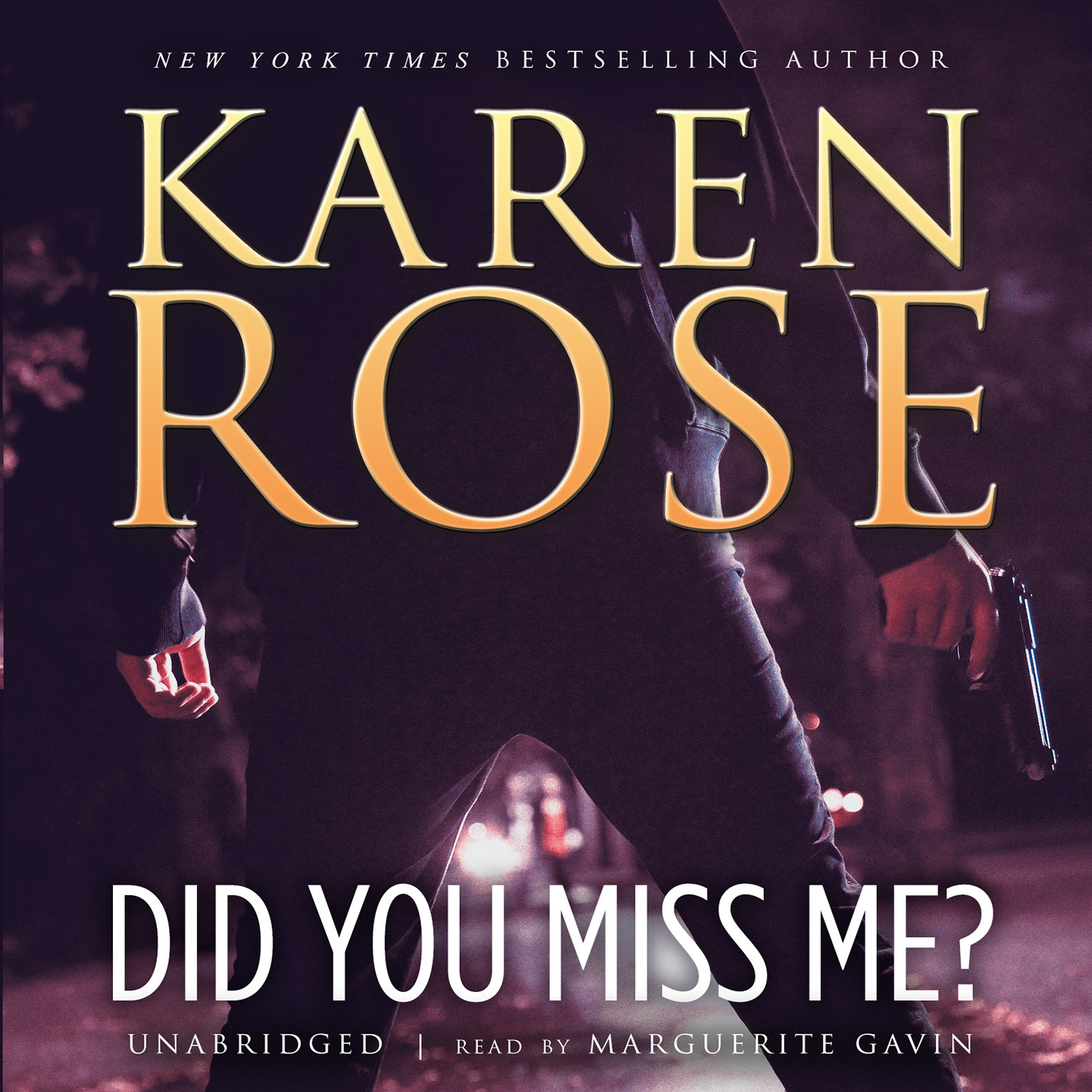 Printable Did You Miss Me? Audiobook Cover Art
