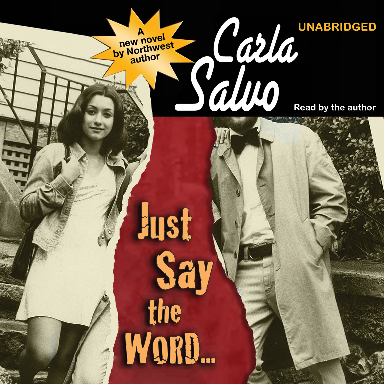 Printable Just Say the Word… Audiobook Cover Art