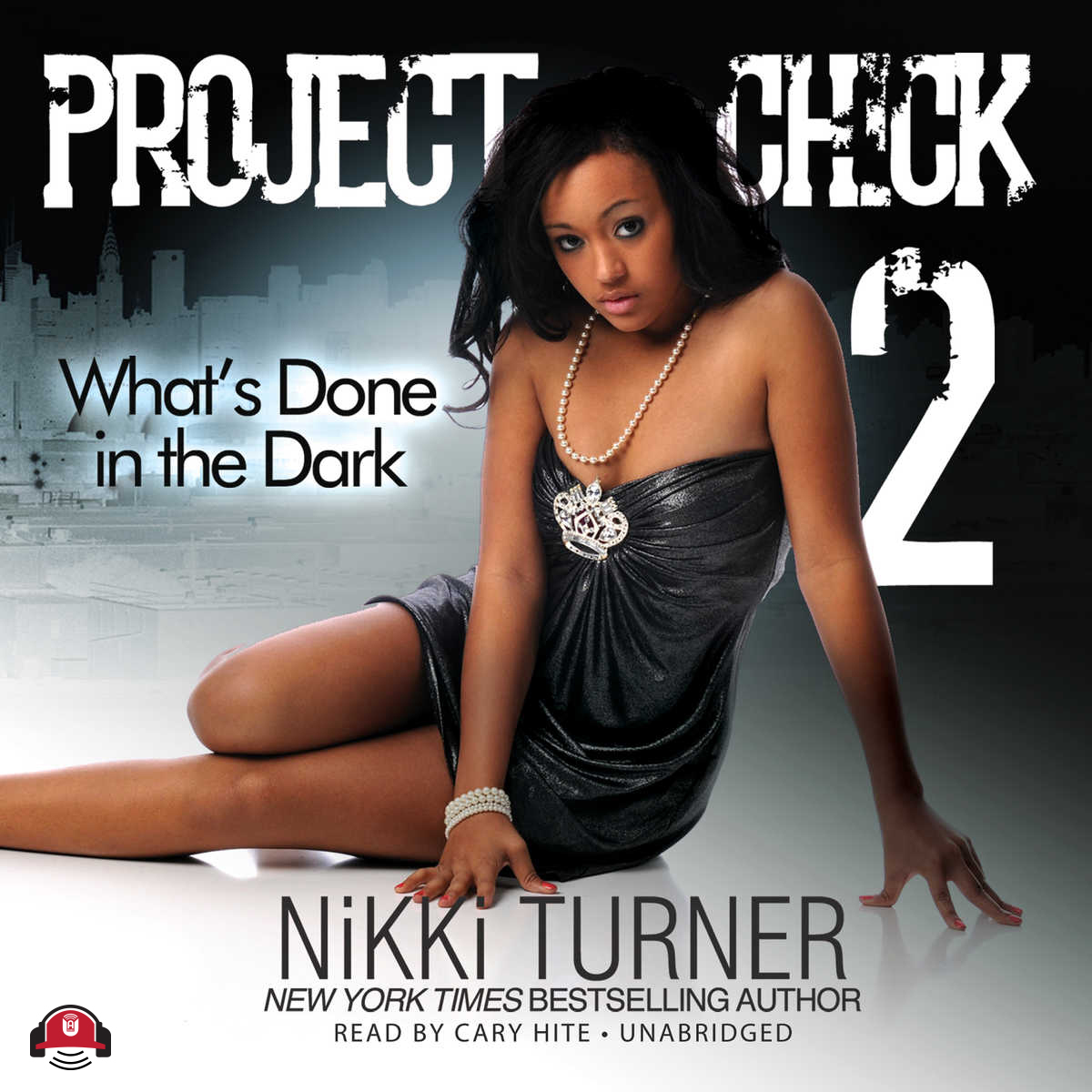 Printable Project Chick II: What's Done in the Dark Audiobook Cover Art