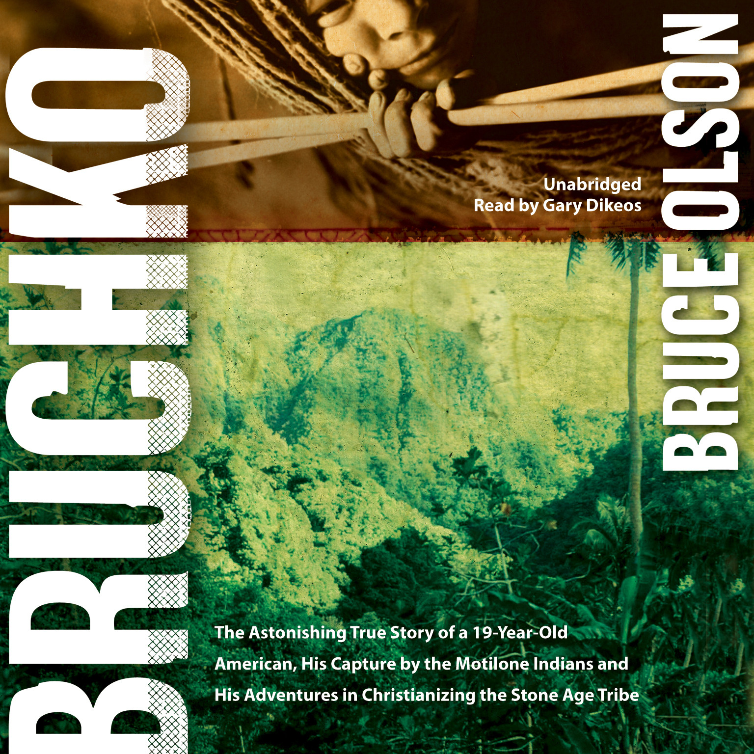 Printable Bruchko Audiobook Cover Art