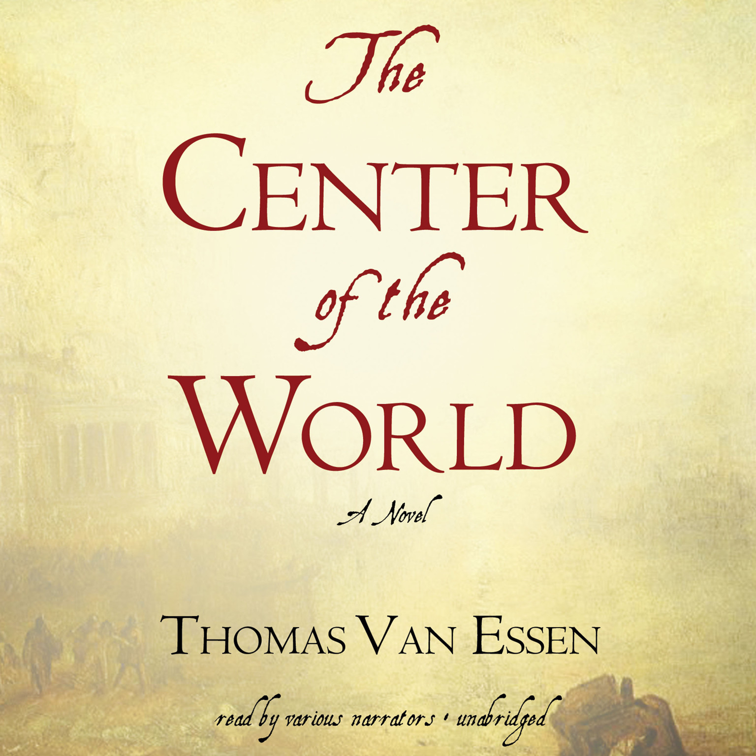 Printable The Center of the World Audiobook Cover Art