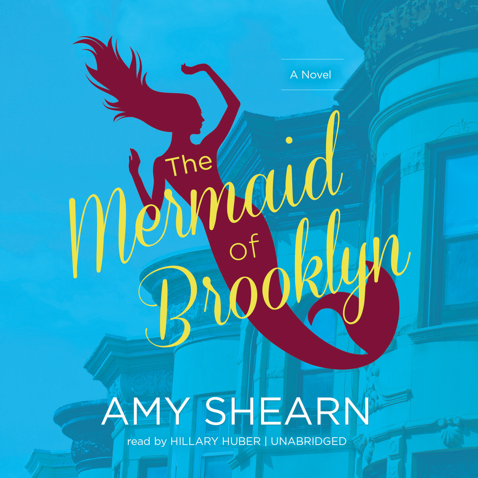 Printable The Mermaid of Brooklyn Audiobook Cover Art