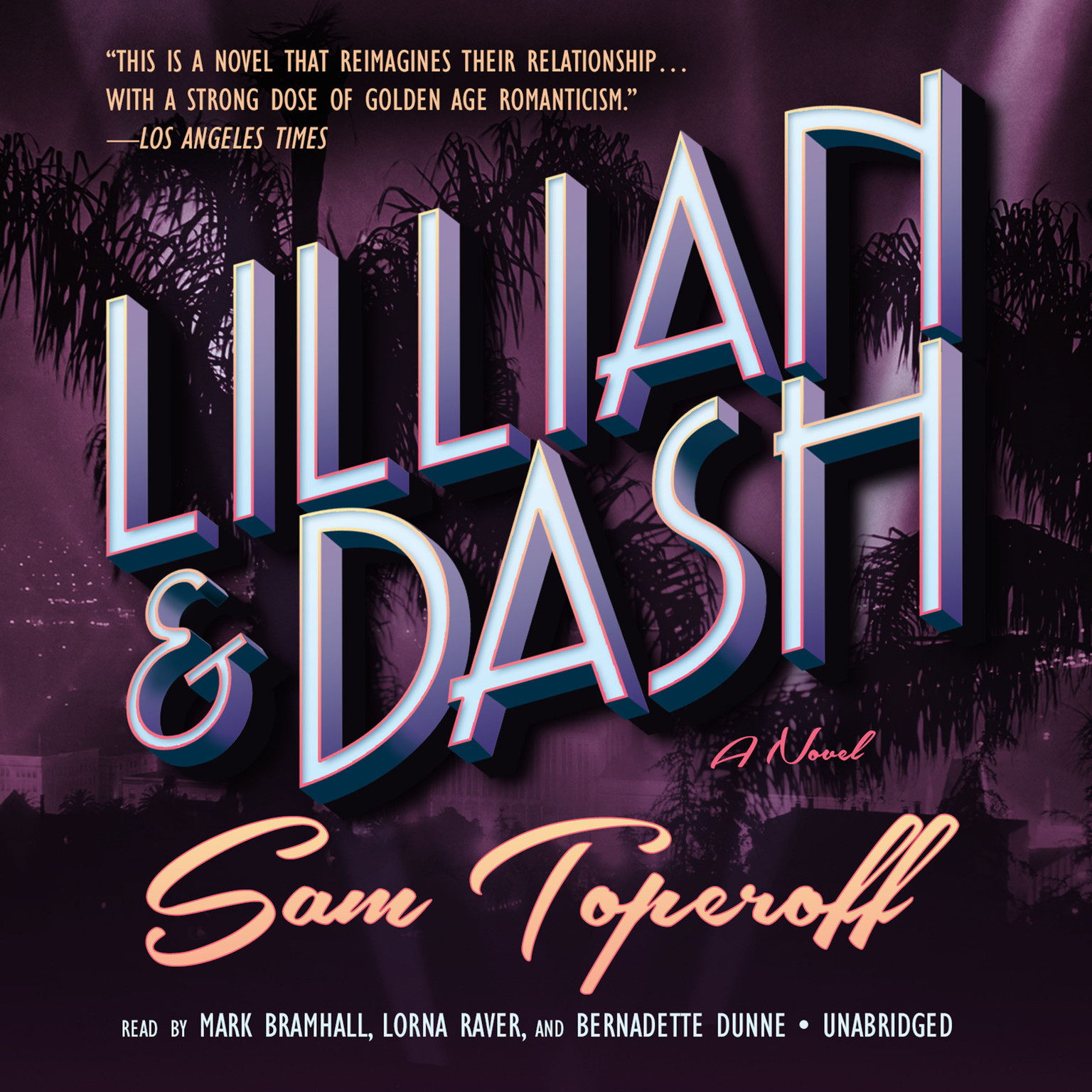 Printable Lillian and Dash: A Novel Audiobook Cover Art