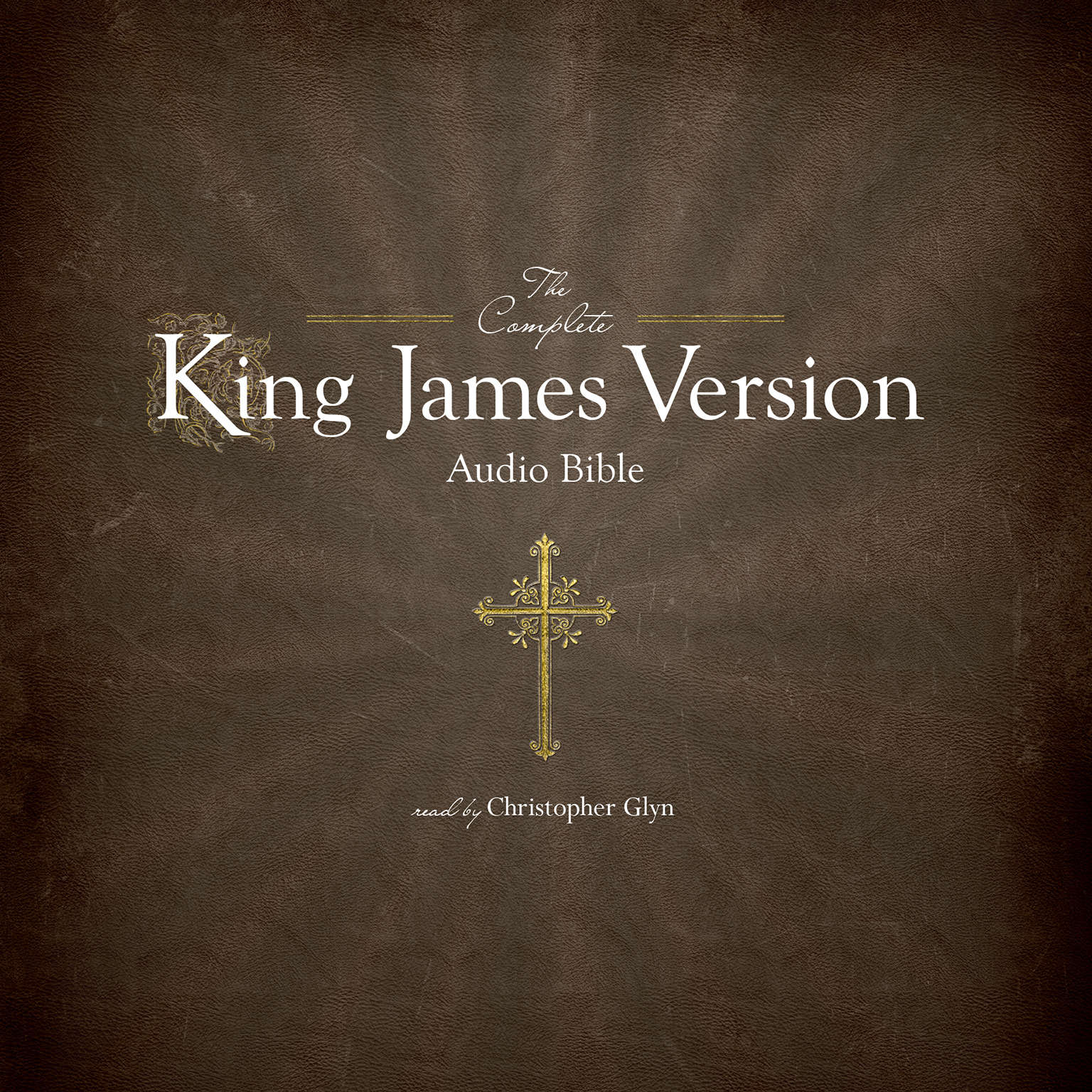 Printable The Complete King James Version Audio Bible Audiobook Cover Art