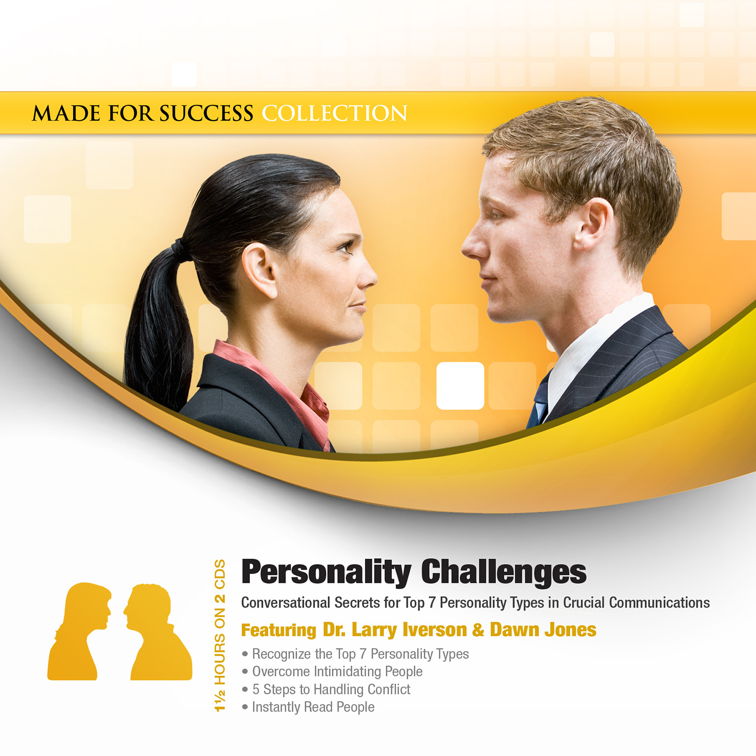 Printable Personality Challenges: Conversational Secrets for Top 7 Personality Types in Crucial Communications Audiobook Cover Art