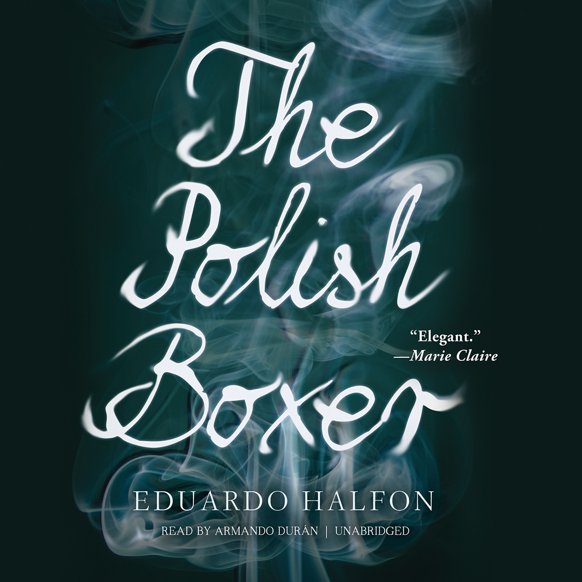 Printable The Polish Boxer Audiobook Cover Art