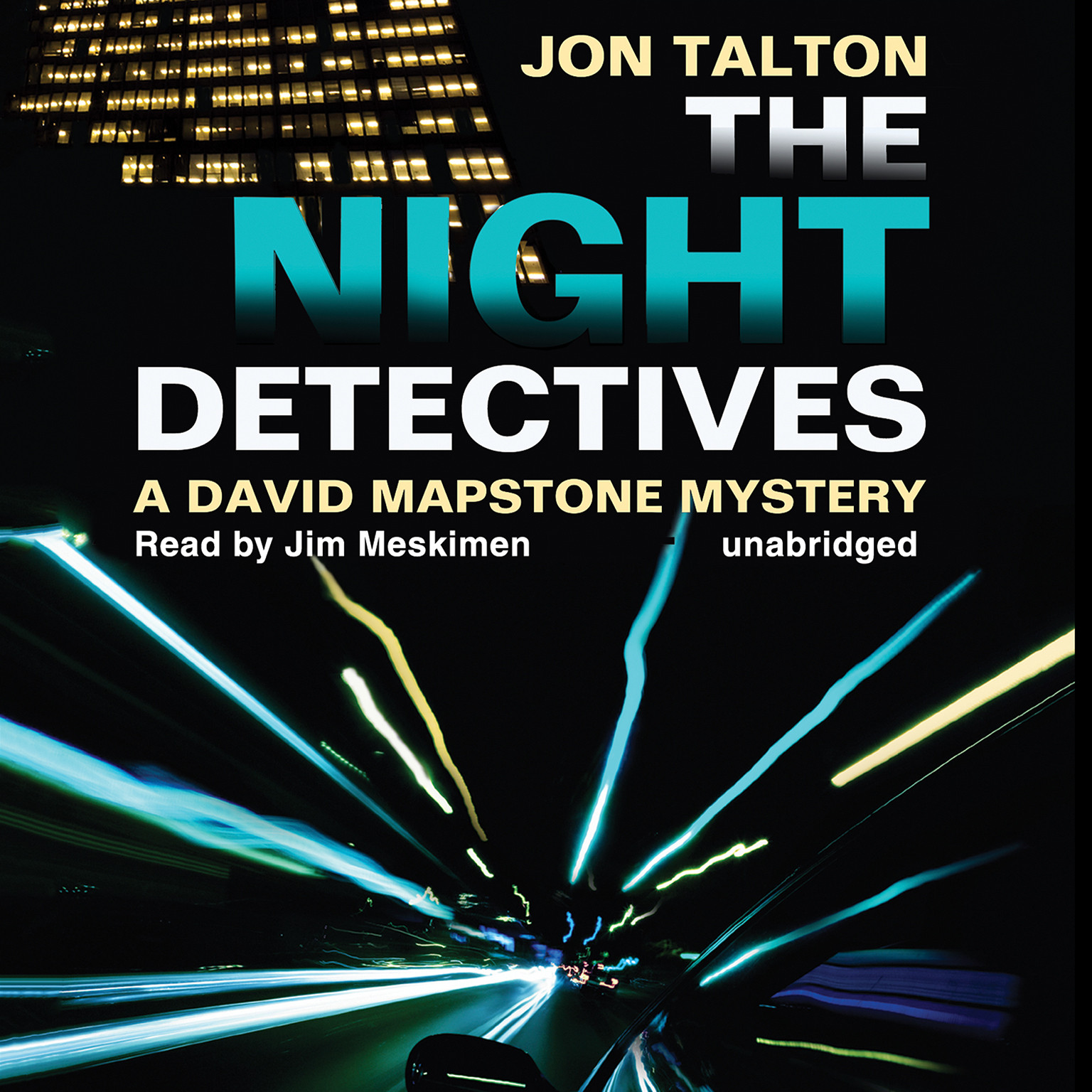 Printable The Night Detectives: A David Mapstone Mystery Audiobook Cover Art