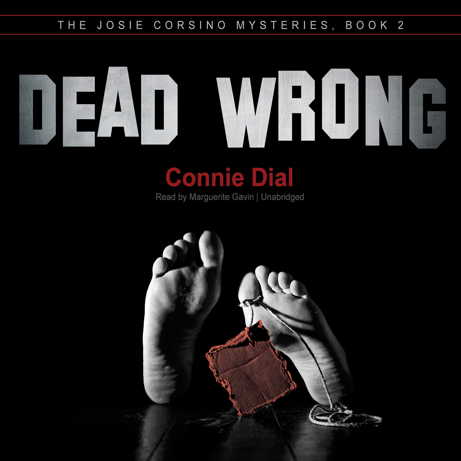 Printable Dead Wrong Audiobook Cover Art