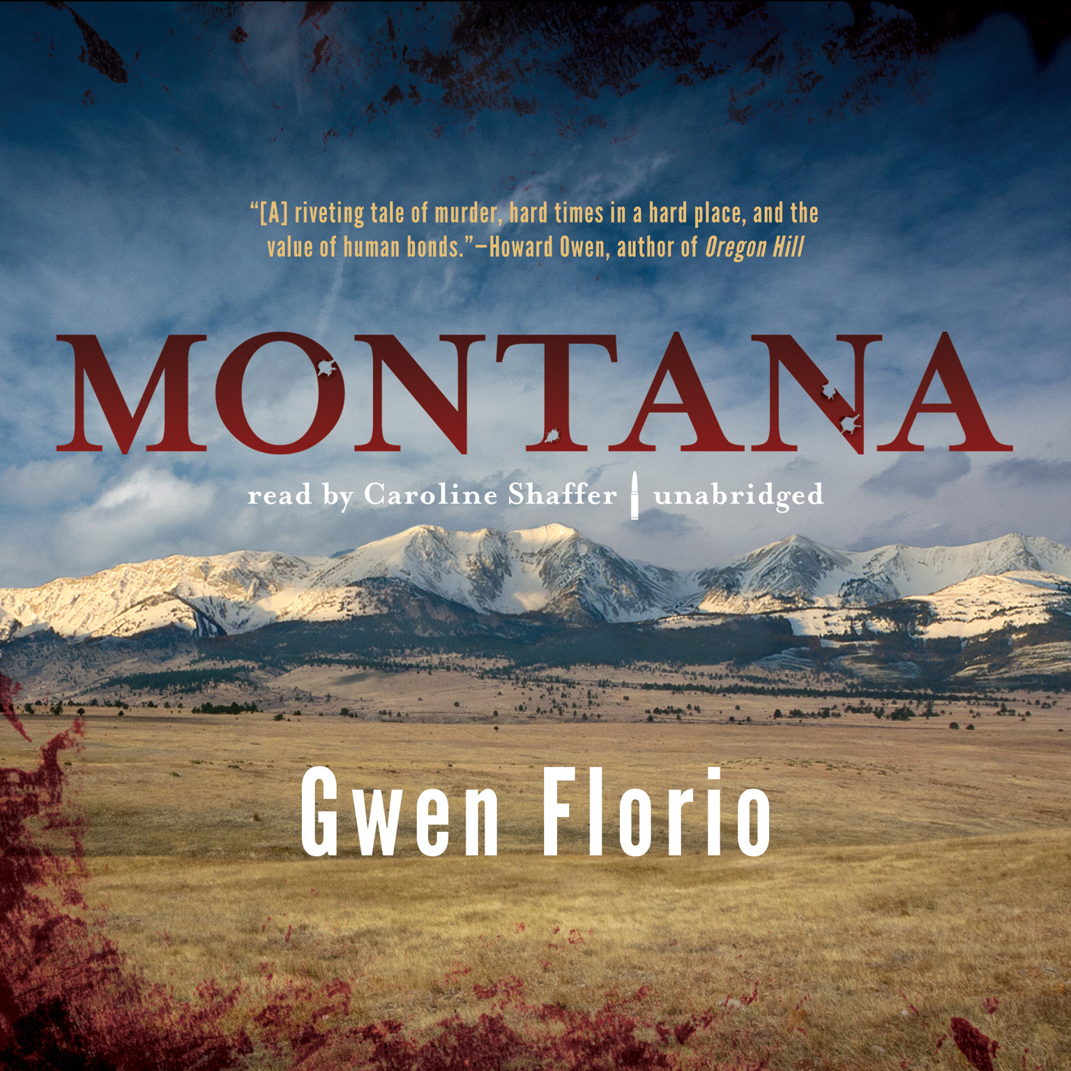 Printable Montana Audiobook Cover Art
