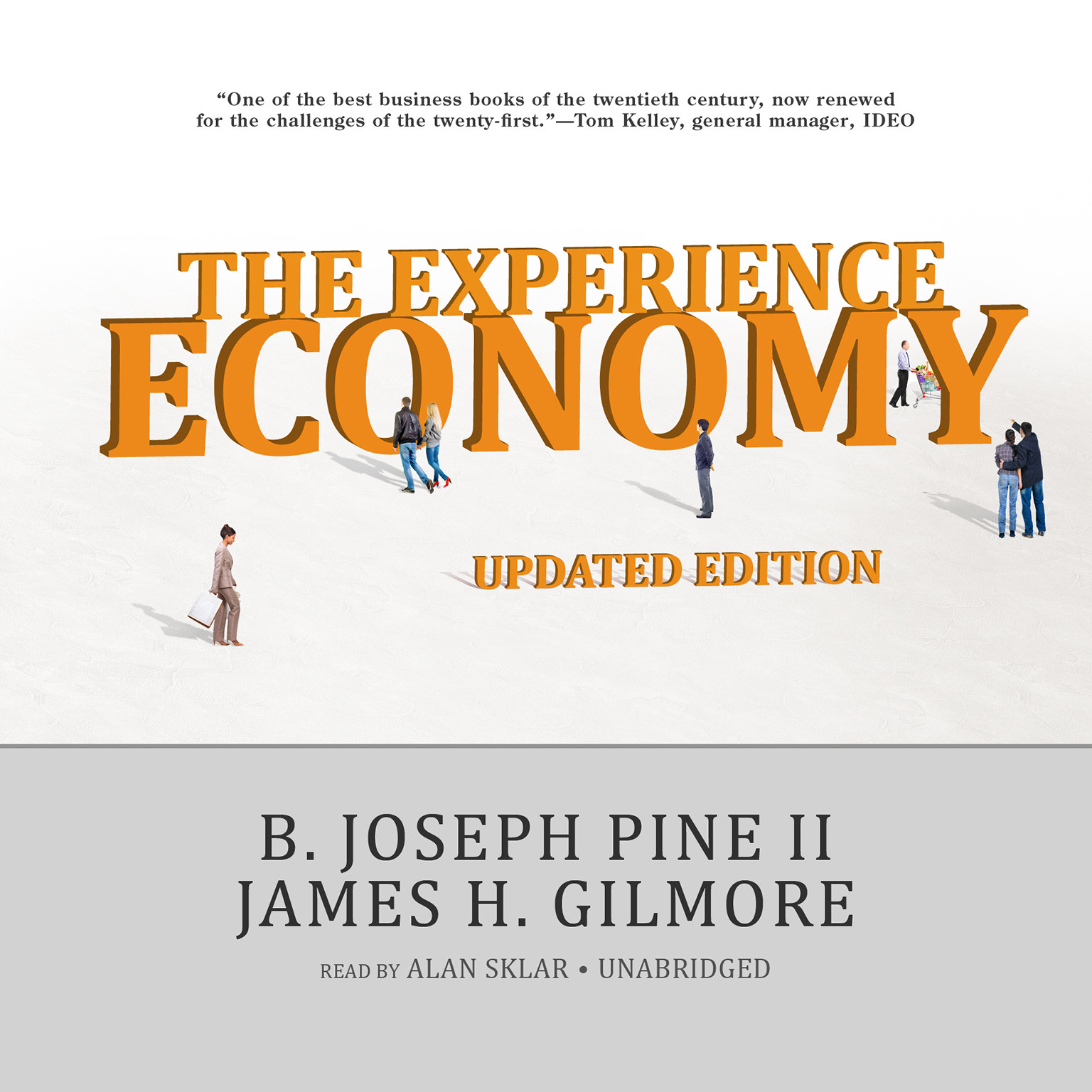 Printable The Experience Economy, Updated Edition Audiobook Cover Art
