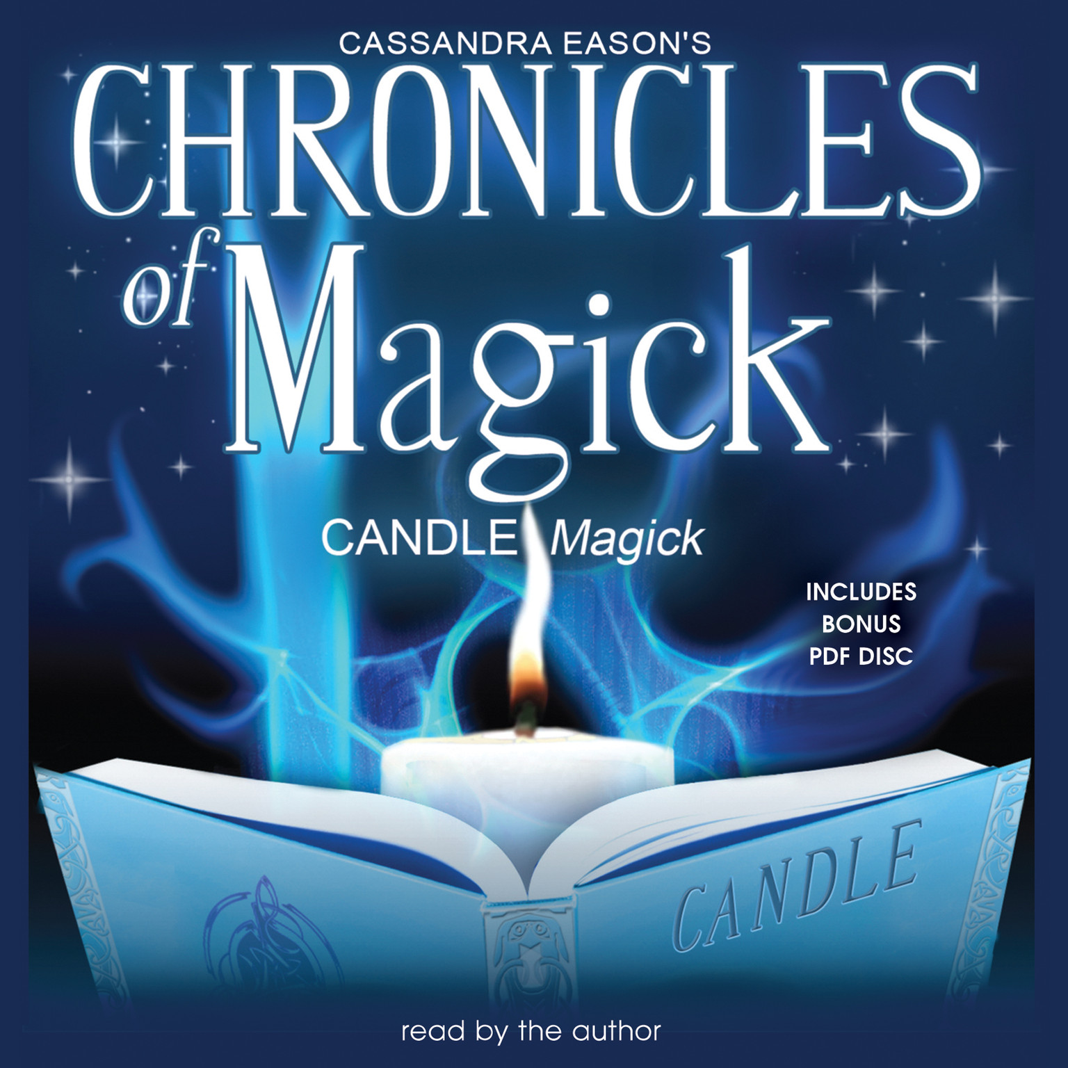 Printable Chronicles of Magick: Candle Magick Audiobook Cover Art