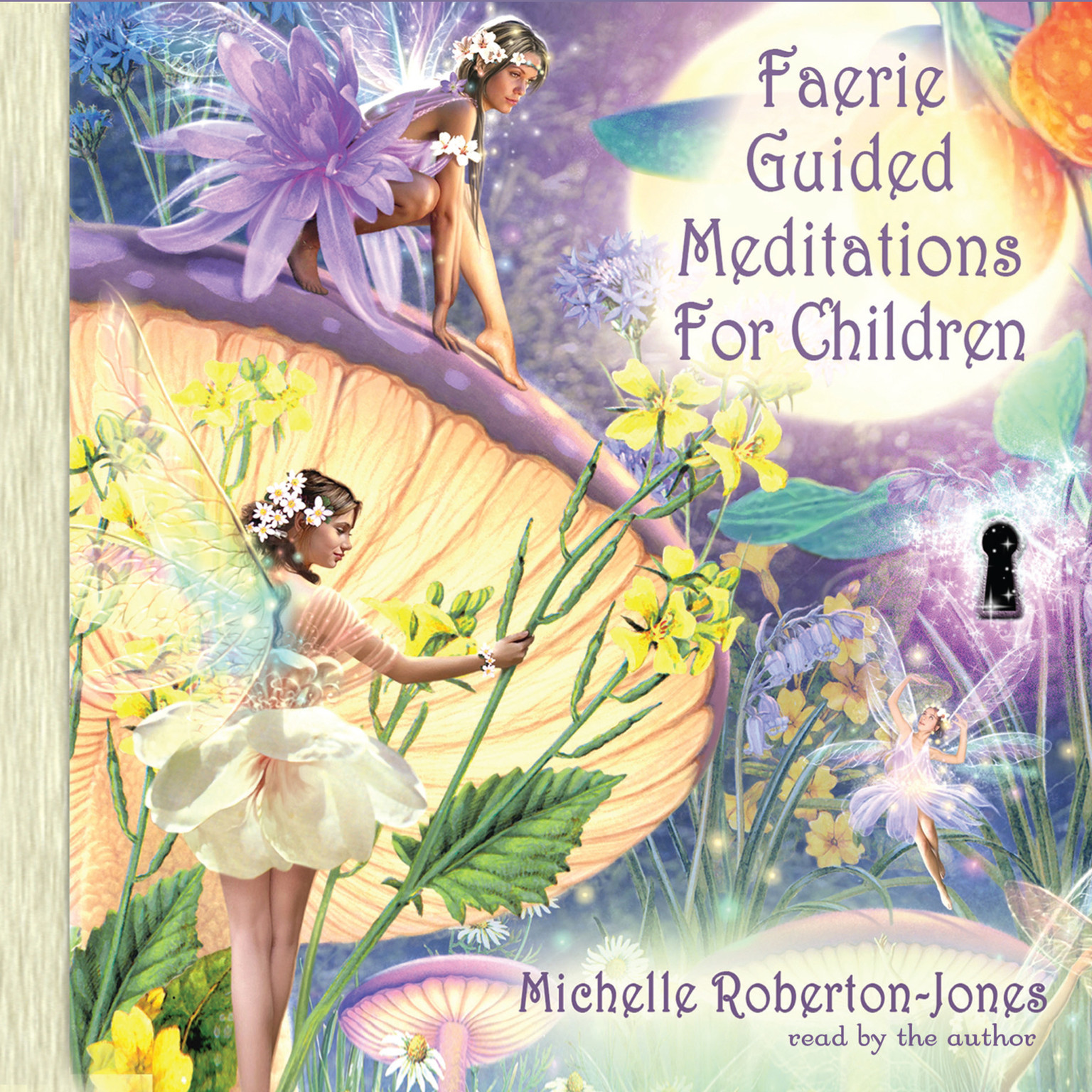 Printable Faerie Guided Meditations for Children Audiobook Cover Art
