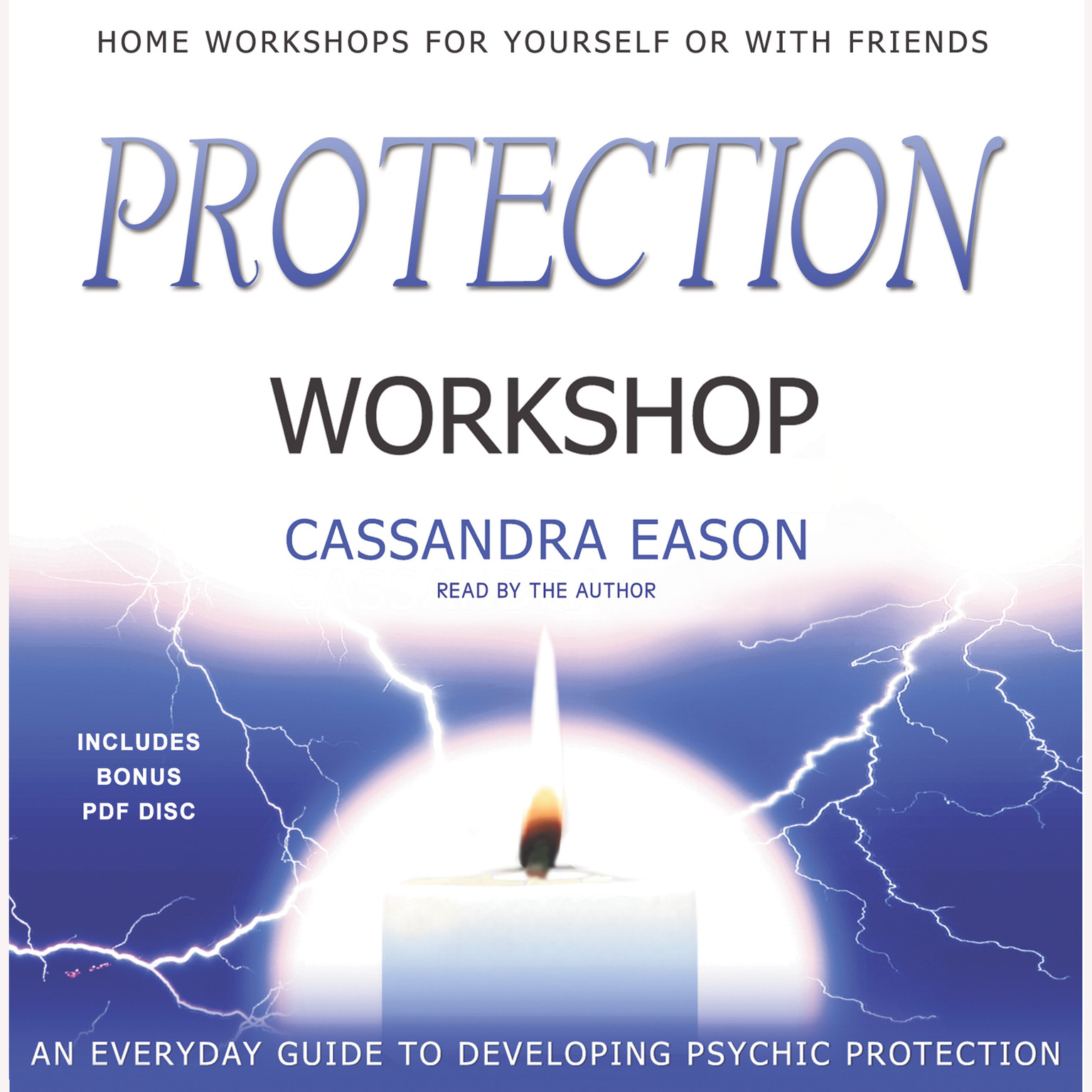Printable Protection Workshop Audiobook Cover Art