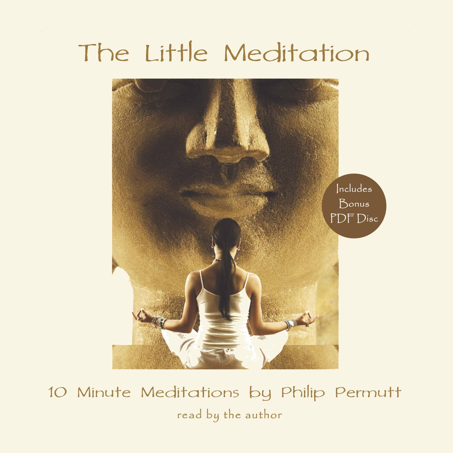 Printable The Little Meditation Audiobook Cover Art