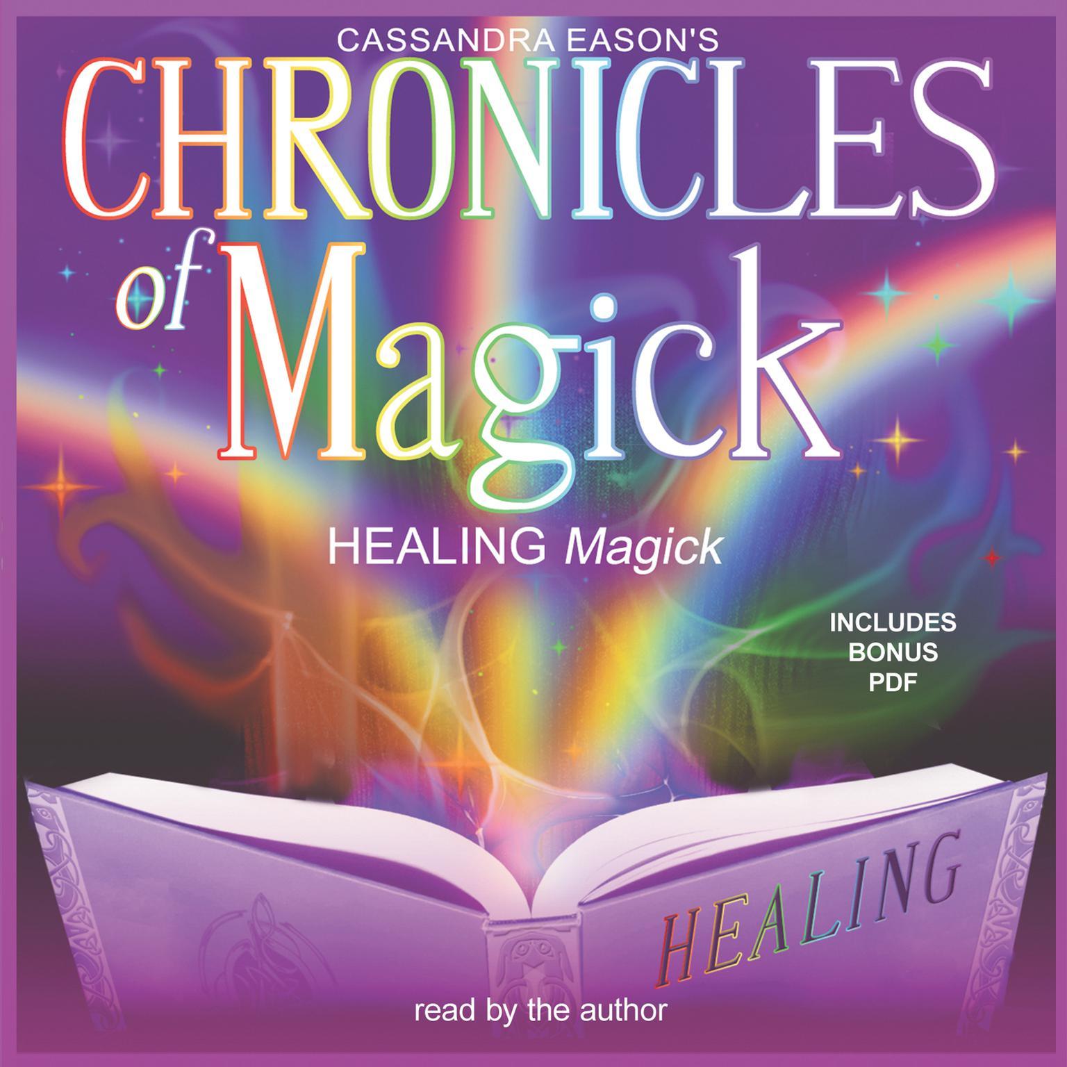 Printable Chronicles of Magick: Healing Magick Audiobook Cover Art