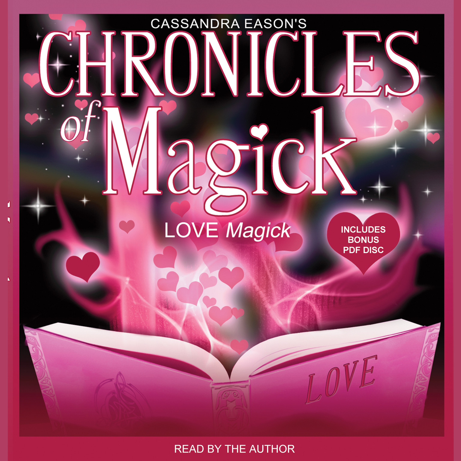 Printable Chronicles of Magick: Love Magick Audiobook Cover Art