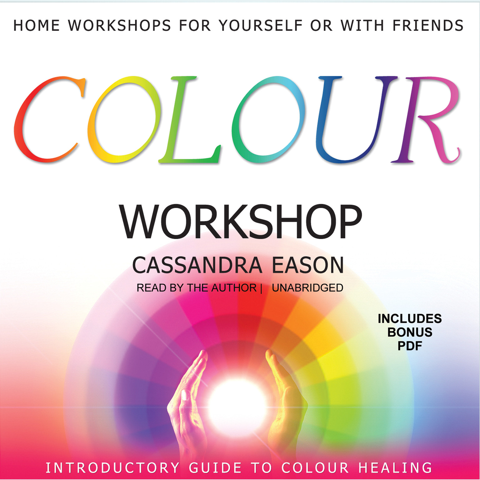 Printable Colour Workshop Audiobook Cover Art
