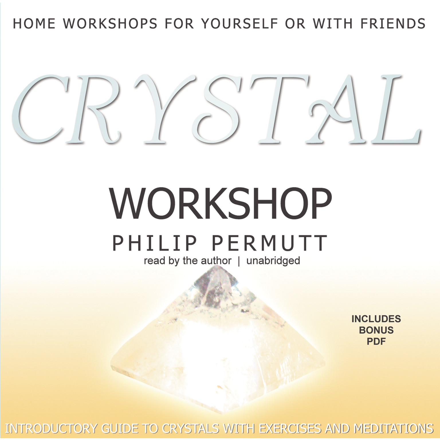 Printable Crystal Workshop Audiobook Cover Art