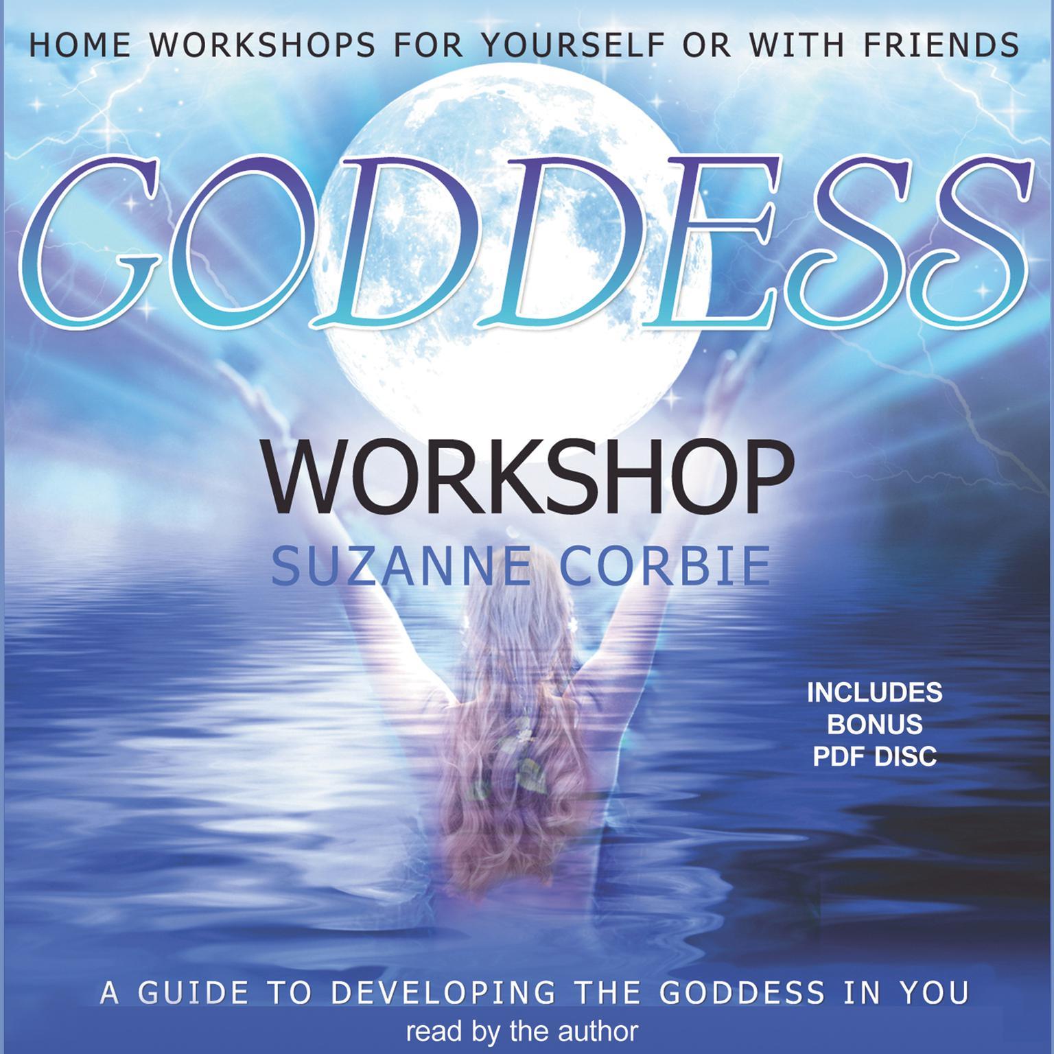 Printable Goddess Workshop Audiobook Cover Art