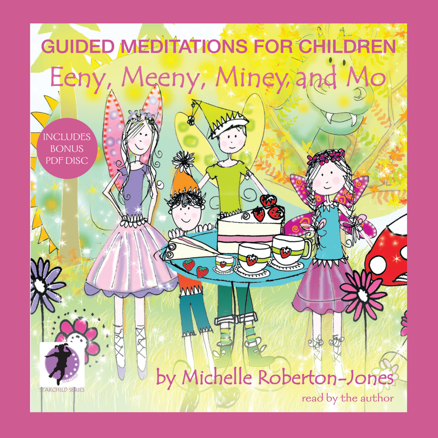 Printable Guided Meditations for Children: Eeny, Meeny, Miney, and Mo Audiobook Cover Art