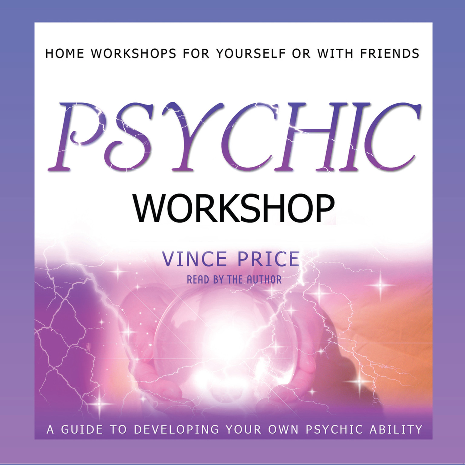 Printable Psychic Workshop Audiobook Cover Art