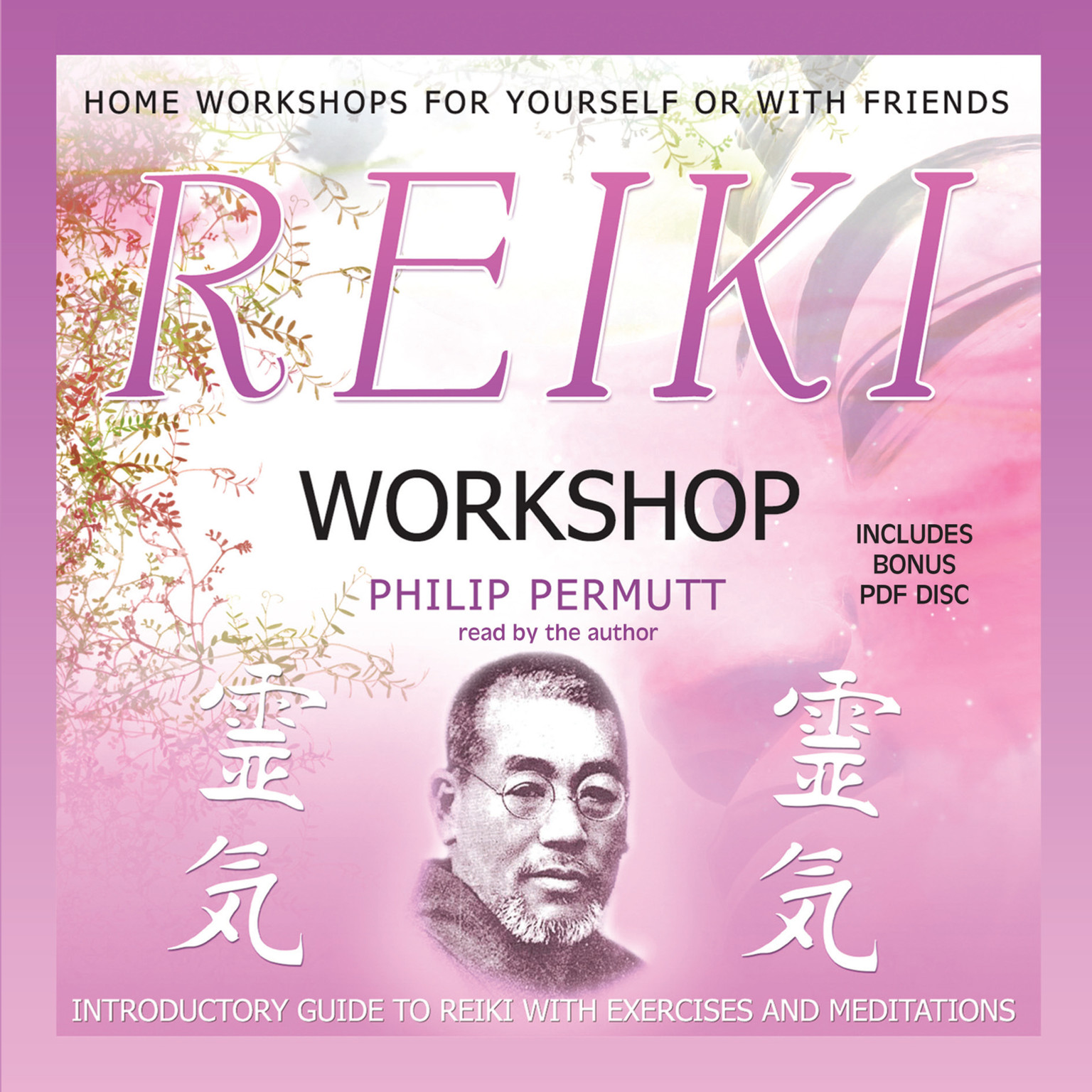Printable Reiki Workshop Audiobook Cover Art
