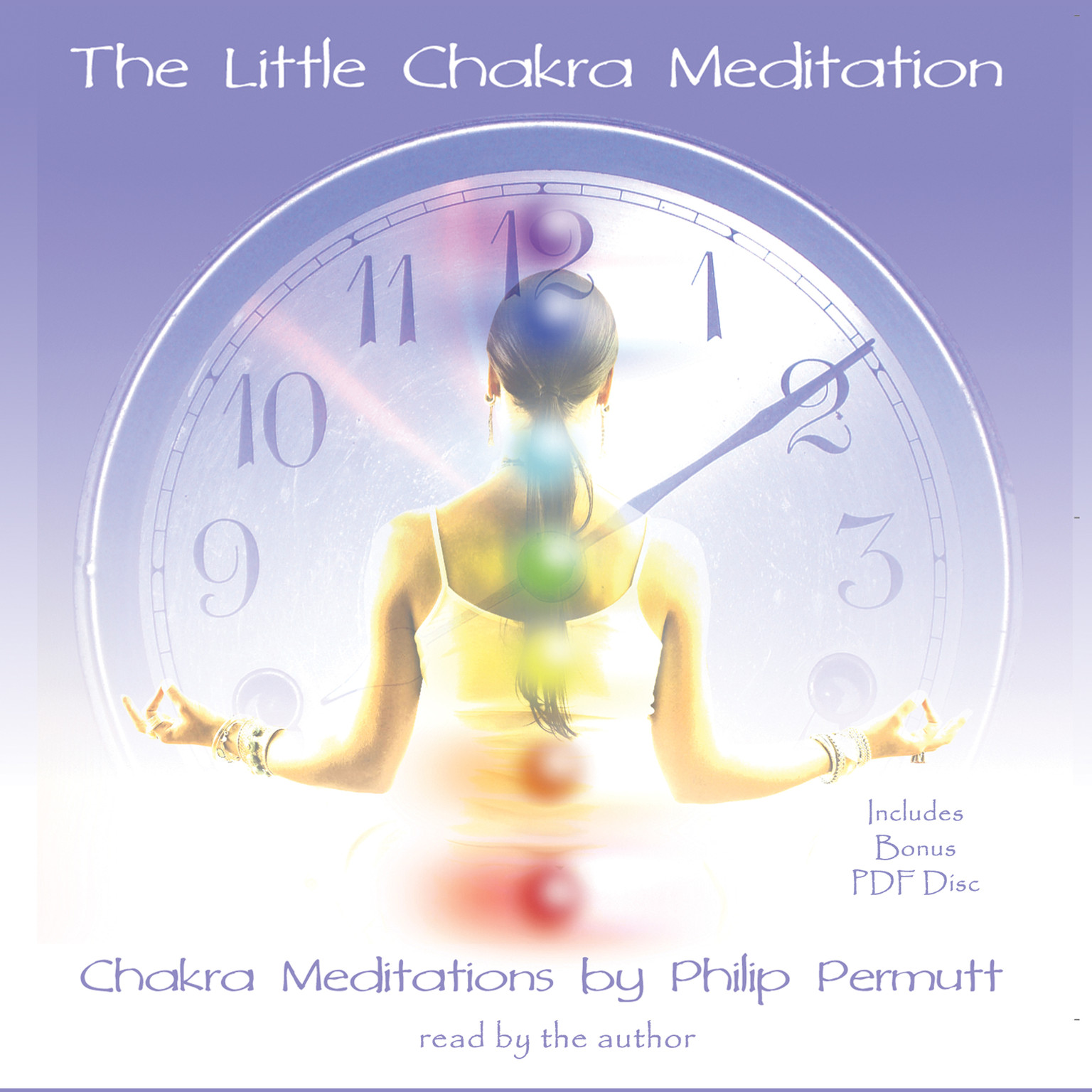 Printable The Little Chakra Meditation Audiobook Cover Art