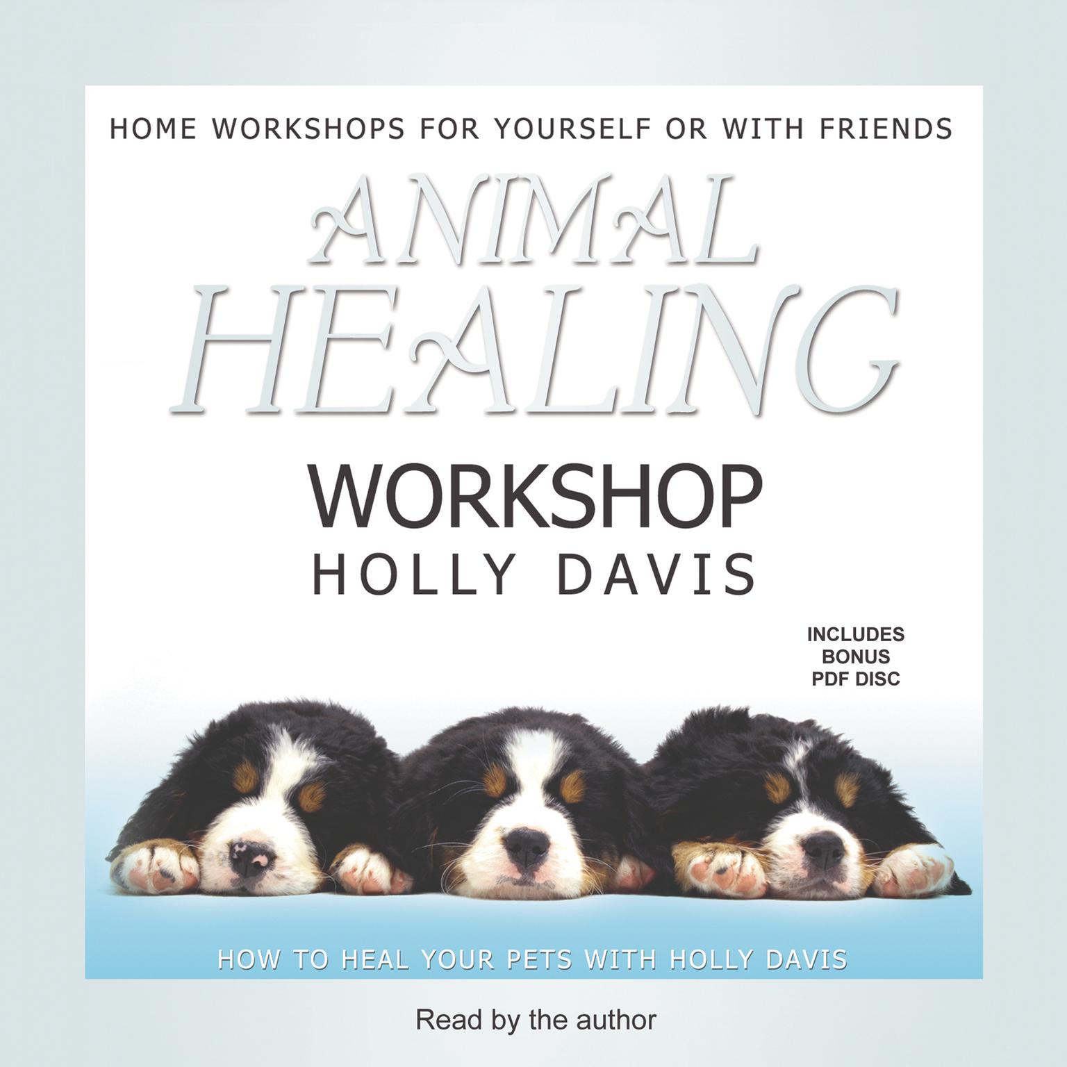 Printable Animal Healing Workshop Audiobook Cover Art