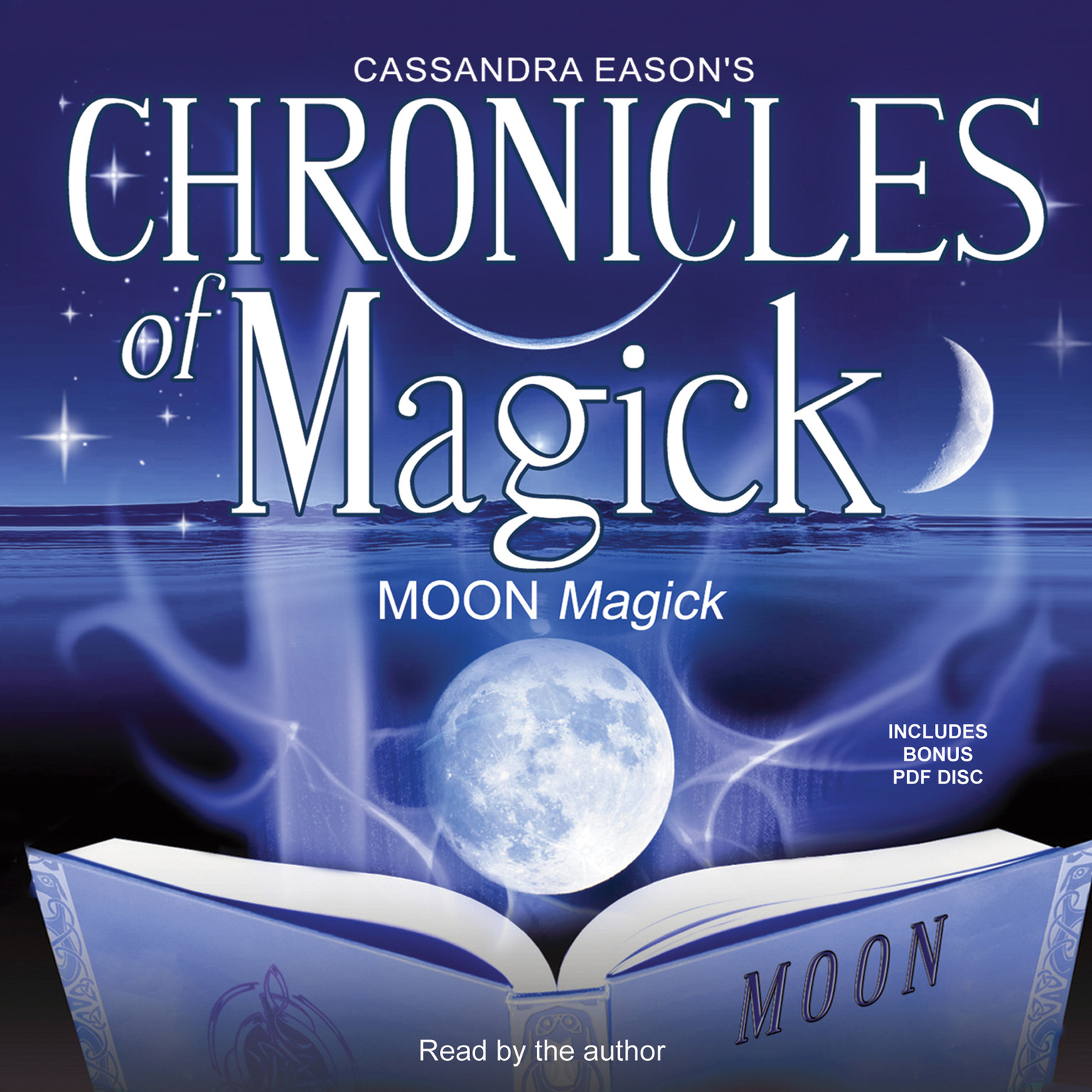 Printable Chronicles of Magick: Moon Magick Audiobook Cover Art