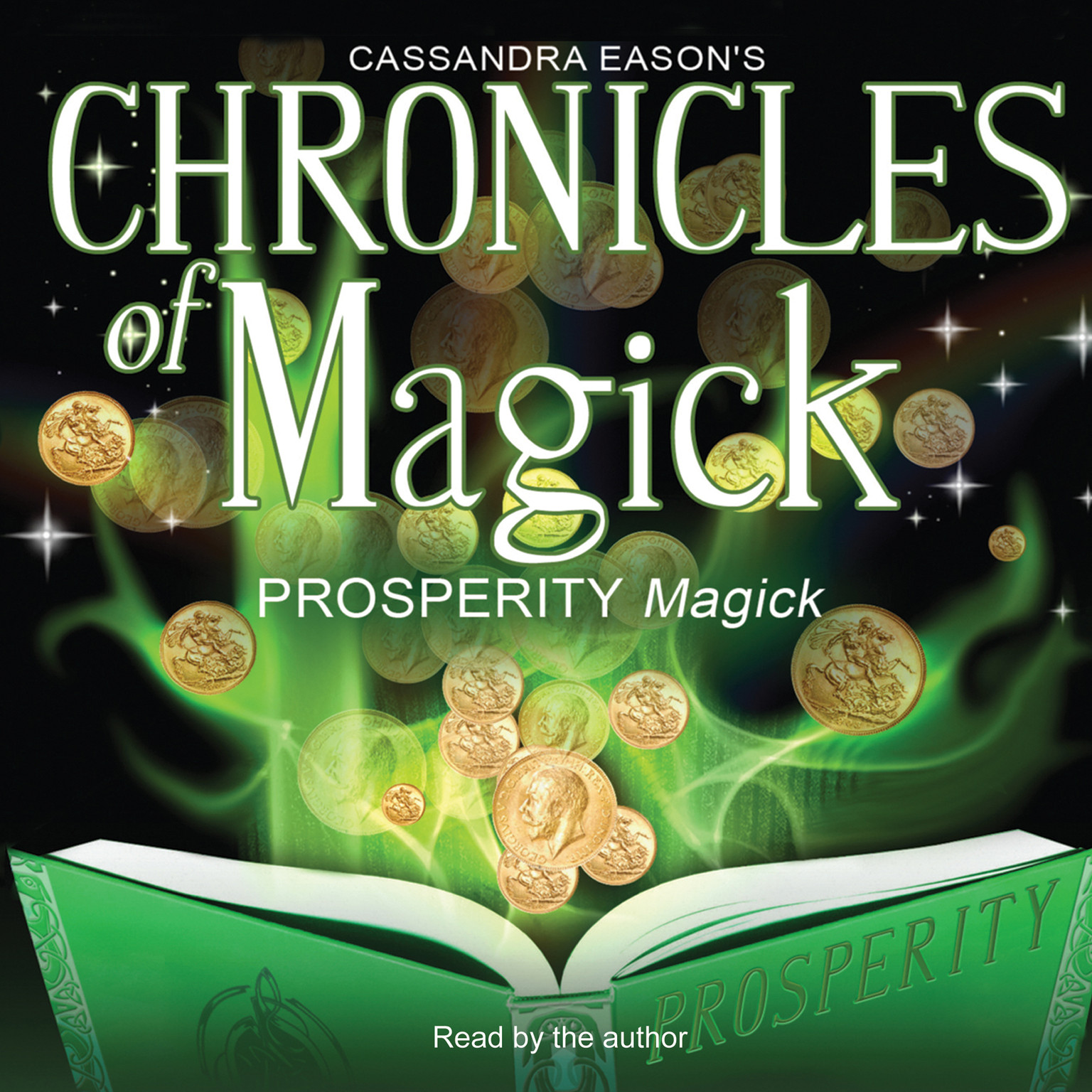 Printable Chronicles of Magick: Prosperity Magick Audiobook Cover Art