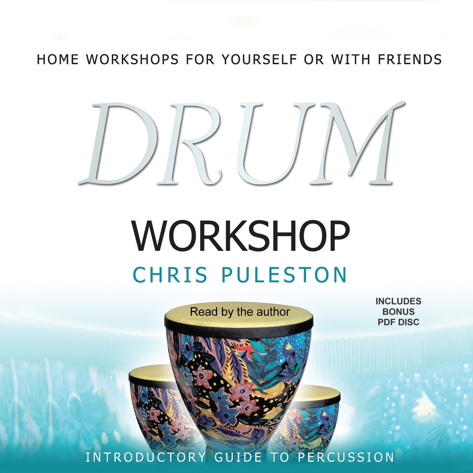 Printable Drum Workshop Audiobook Cover Art