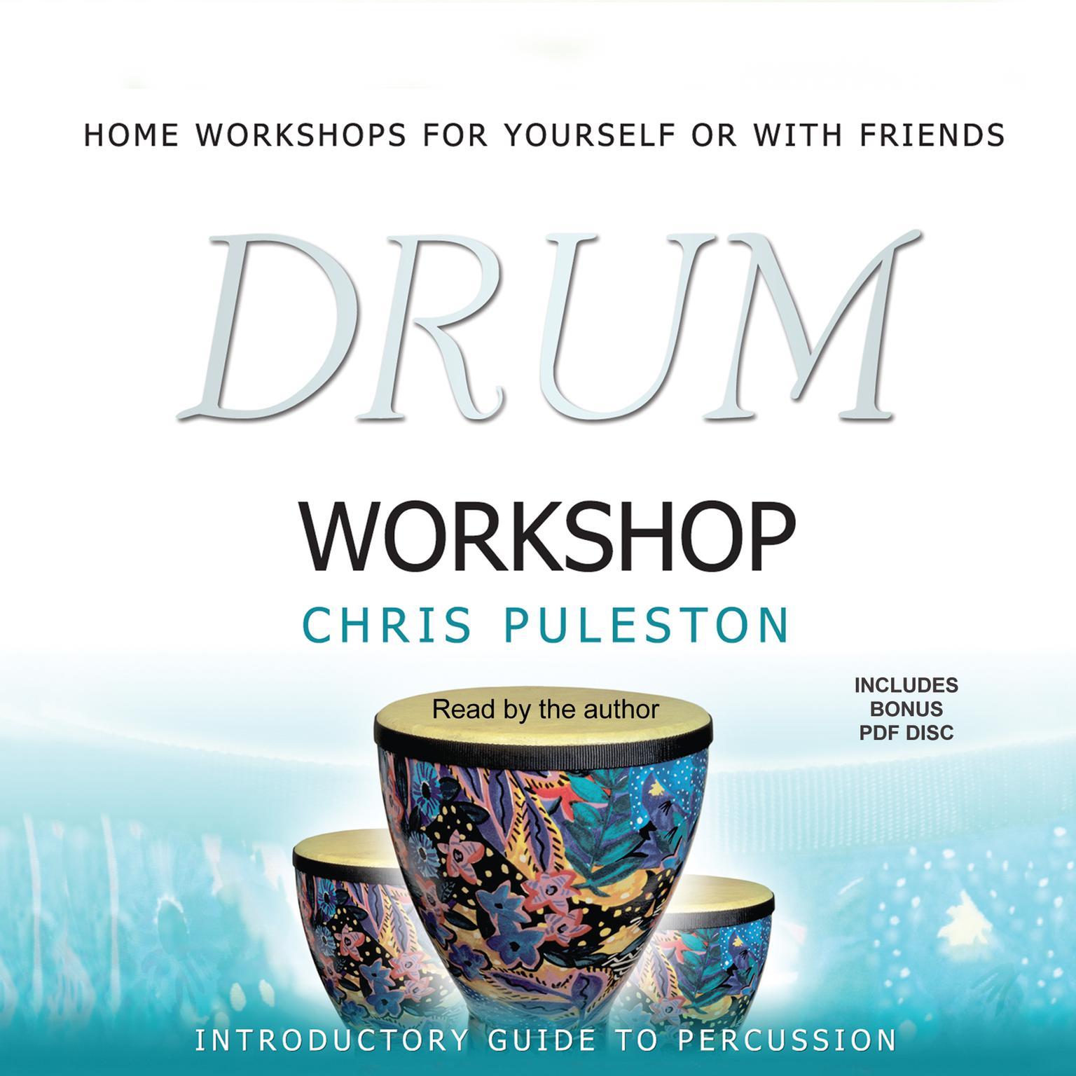 Printable Drum Workshop Audiobook Cover Art
