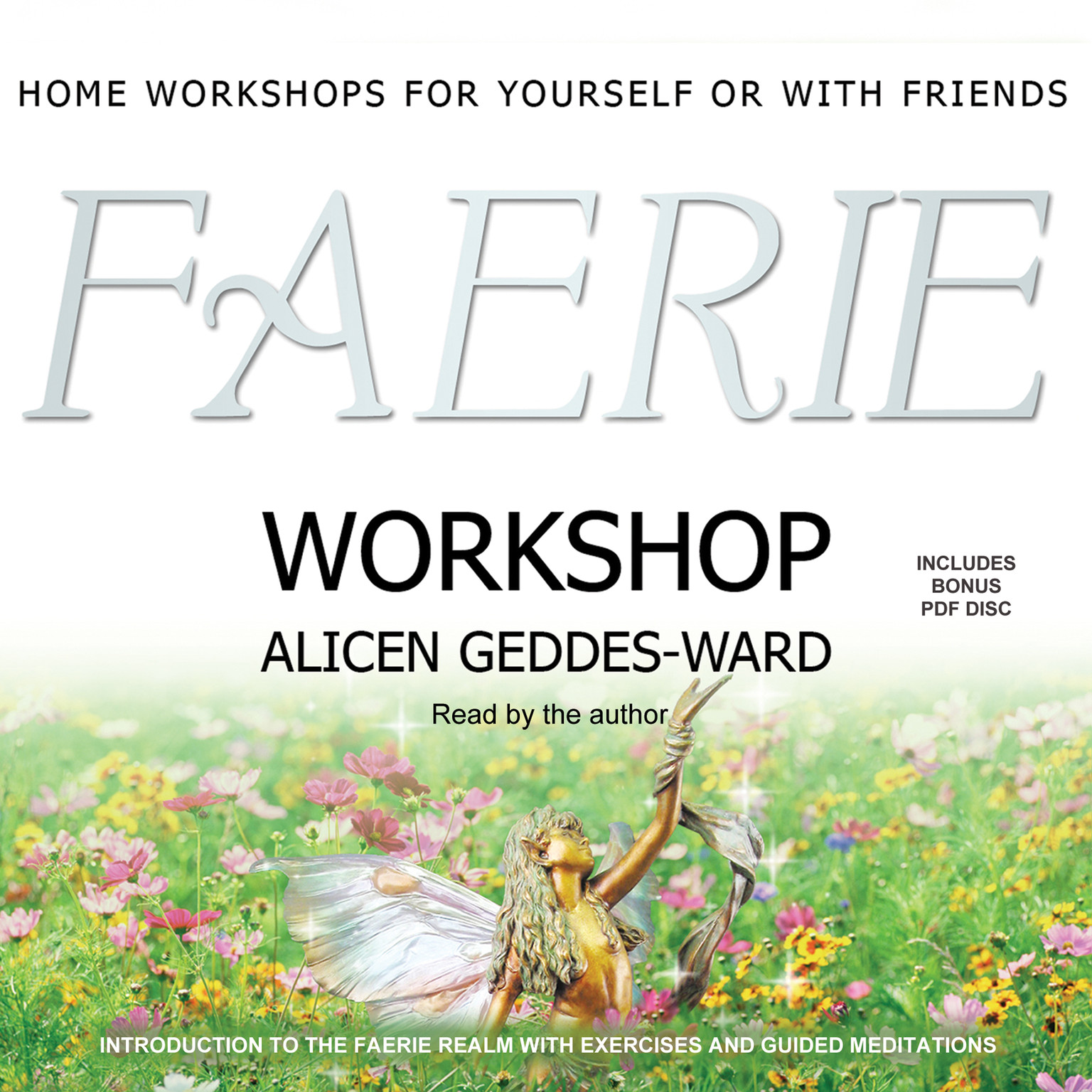 Printable Faerie Workshop Audiobook Cover Art
