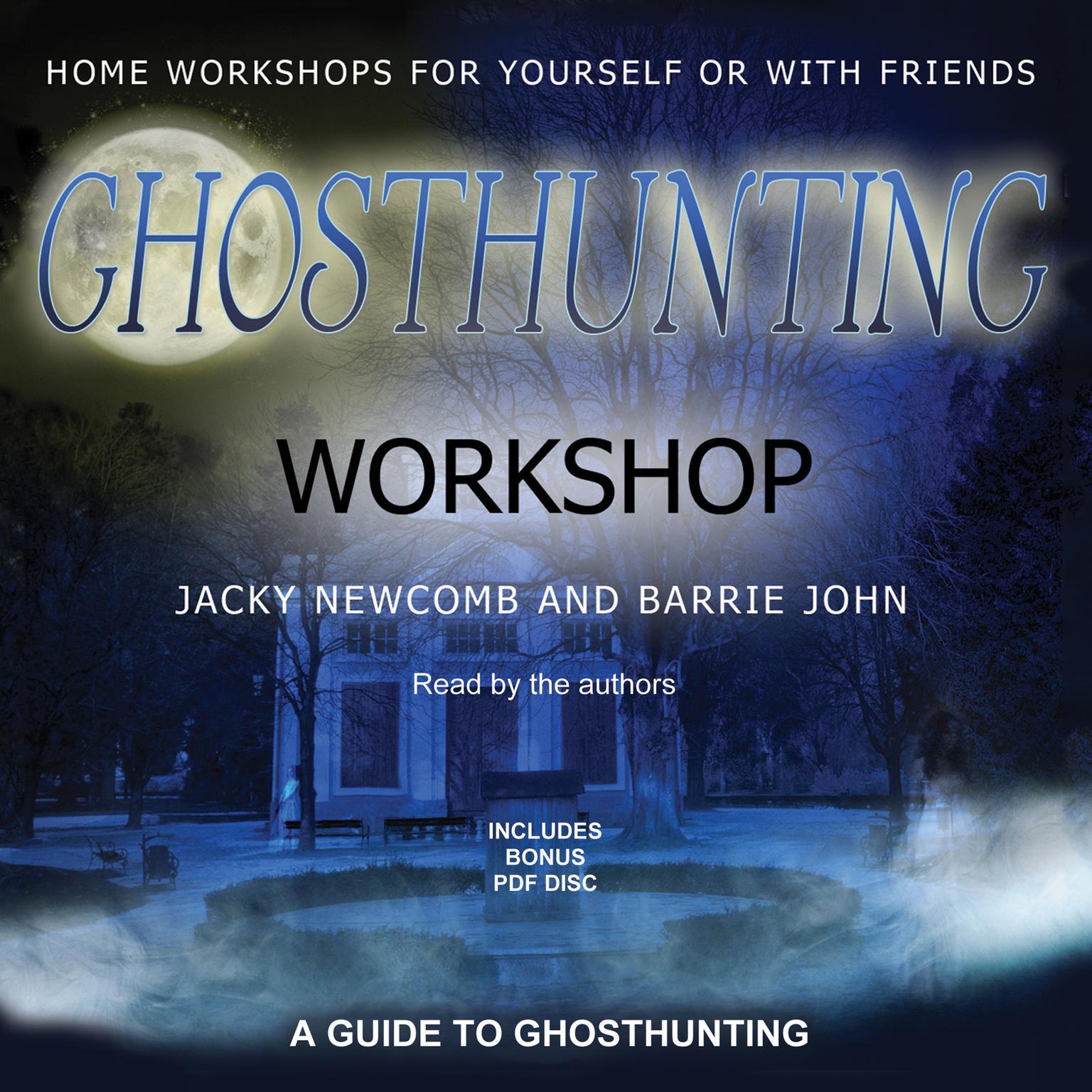 Printable Ghosthunting Workshop Audiobook Cover Art