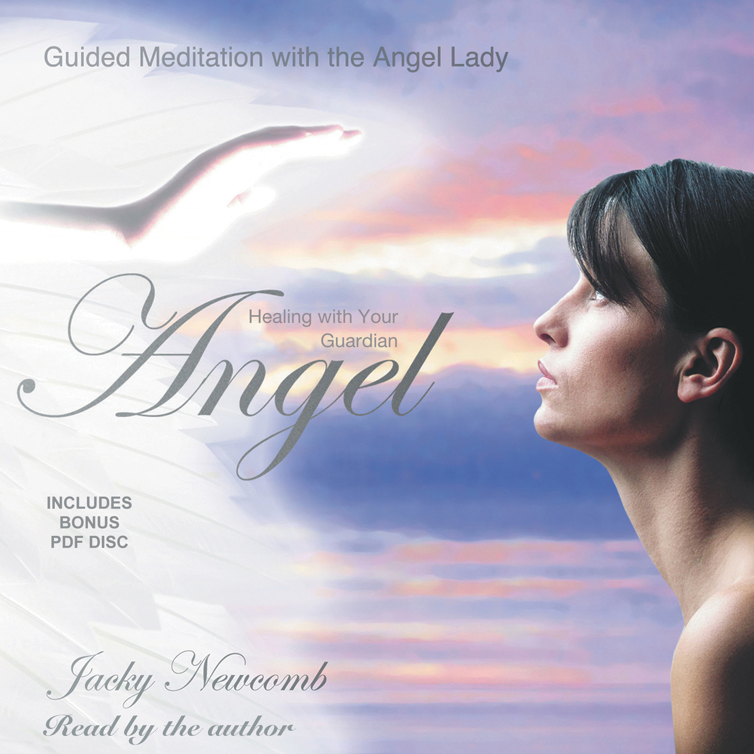 Printable Healing with Your Guardian Angel Audiobook Cover Art