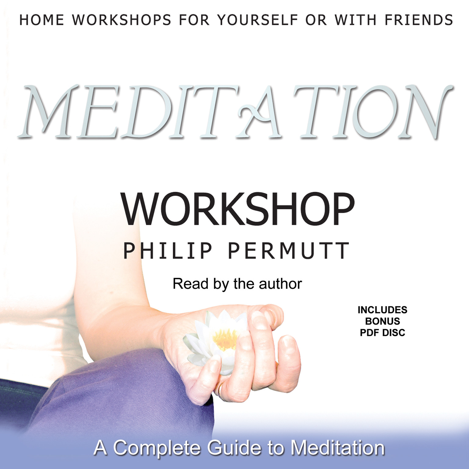 Printable Meditation Workshop Audiobook Cover Art
