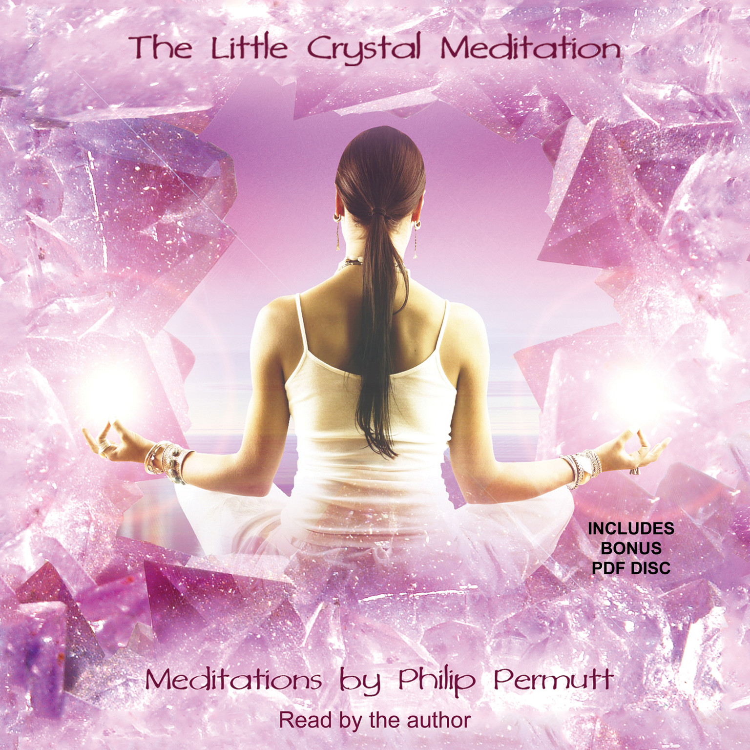 Printable The Little Crystal Meditation Audiobook Cover Art