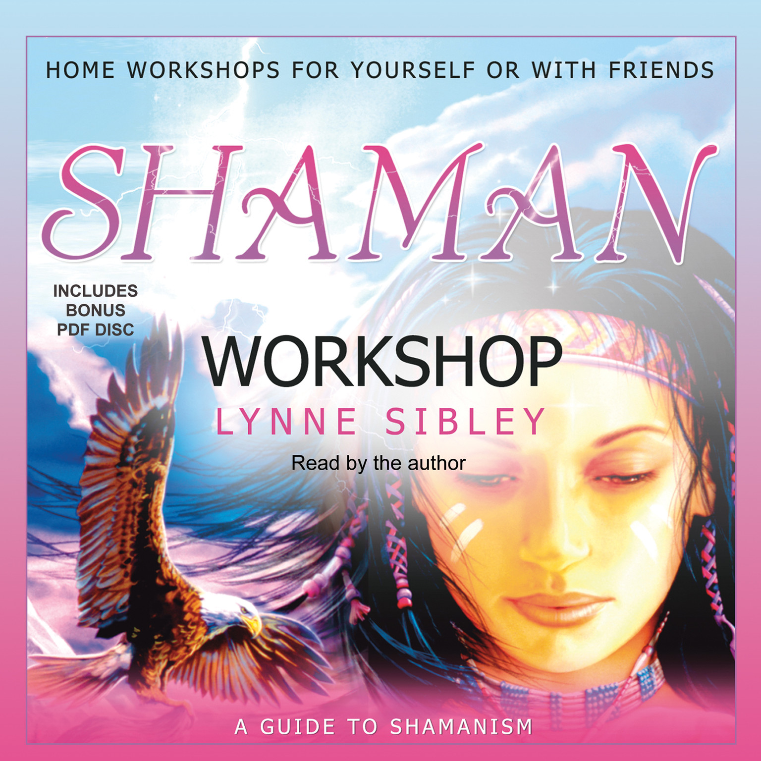 Printable Shaman Workshop Audiobook Cover Art