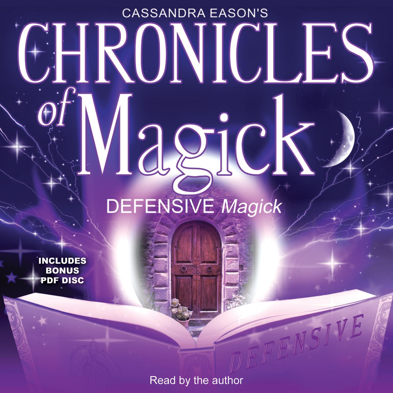 Printable Chronicles of Magick: Defensive Magick Audiobook Cover Art
